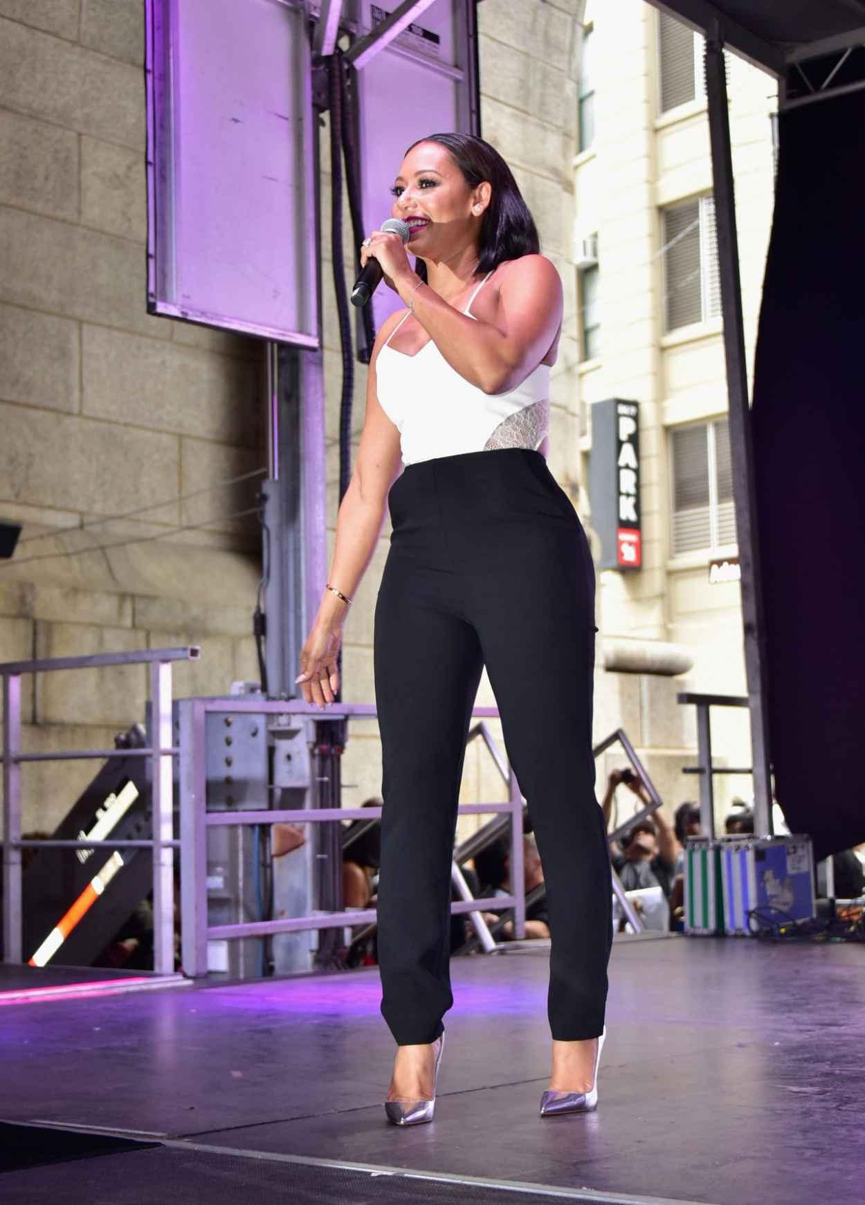 Melanie Brown - 2015 Essence Street Style Block Party in New York City-4