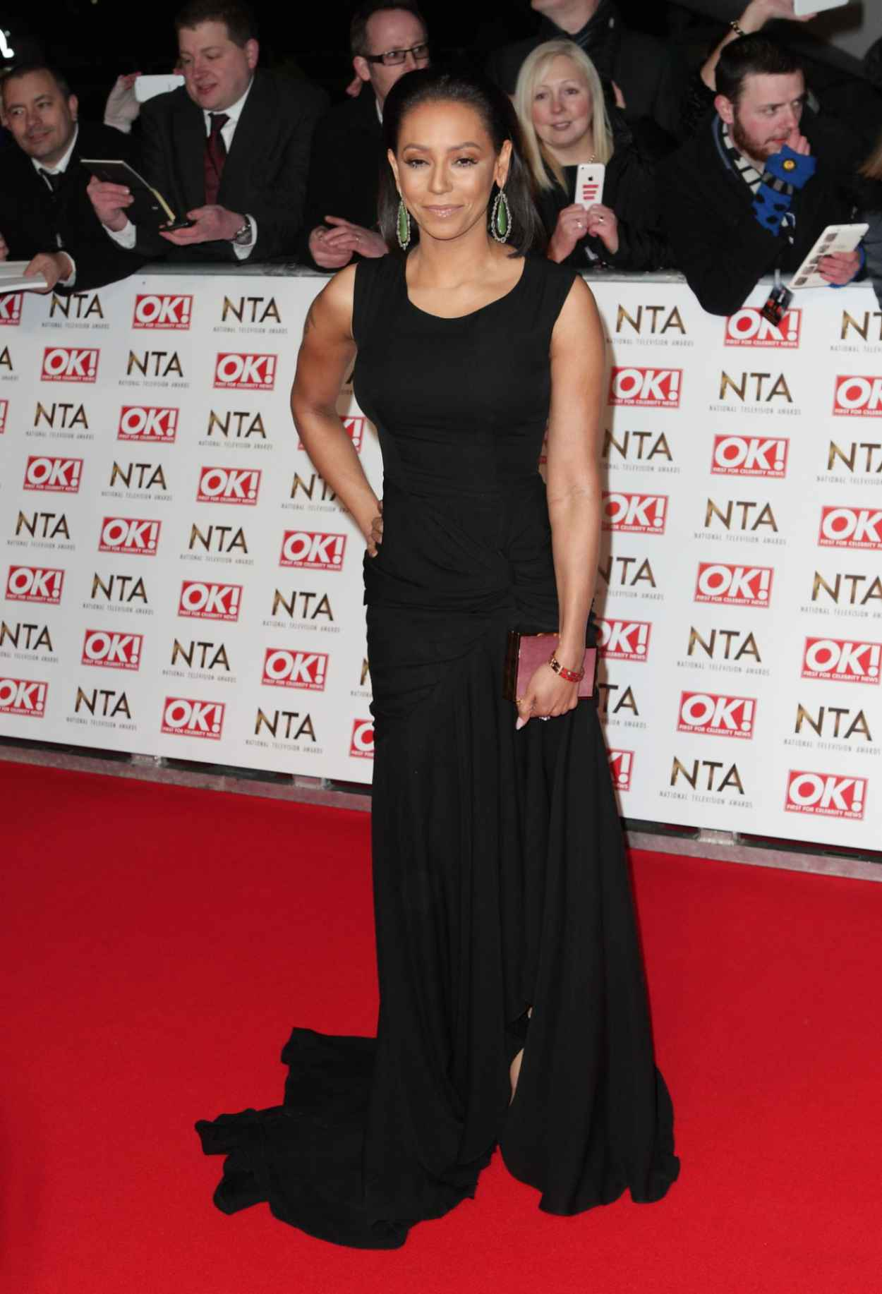Melanie Brown - 2015 National Television Awards in London-1