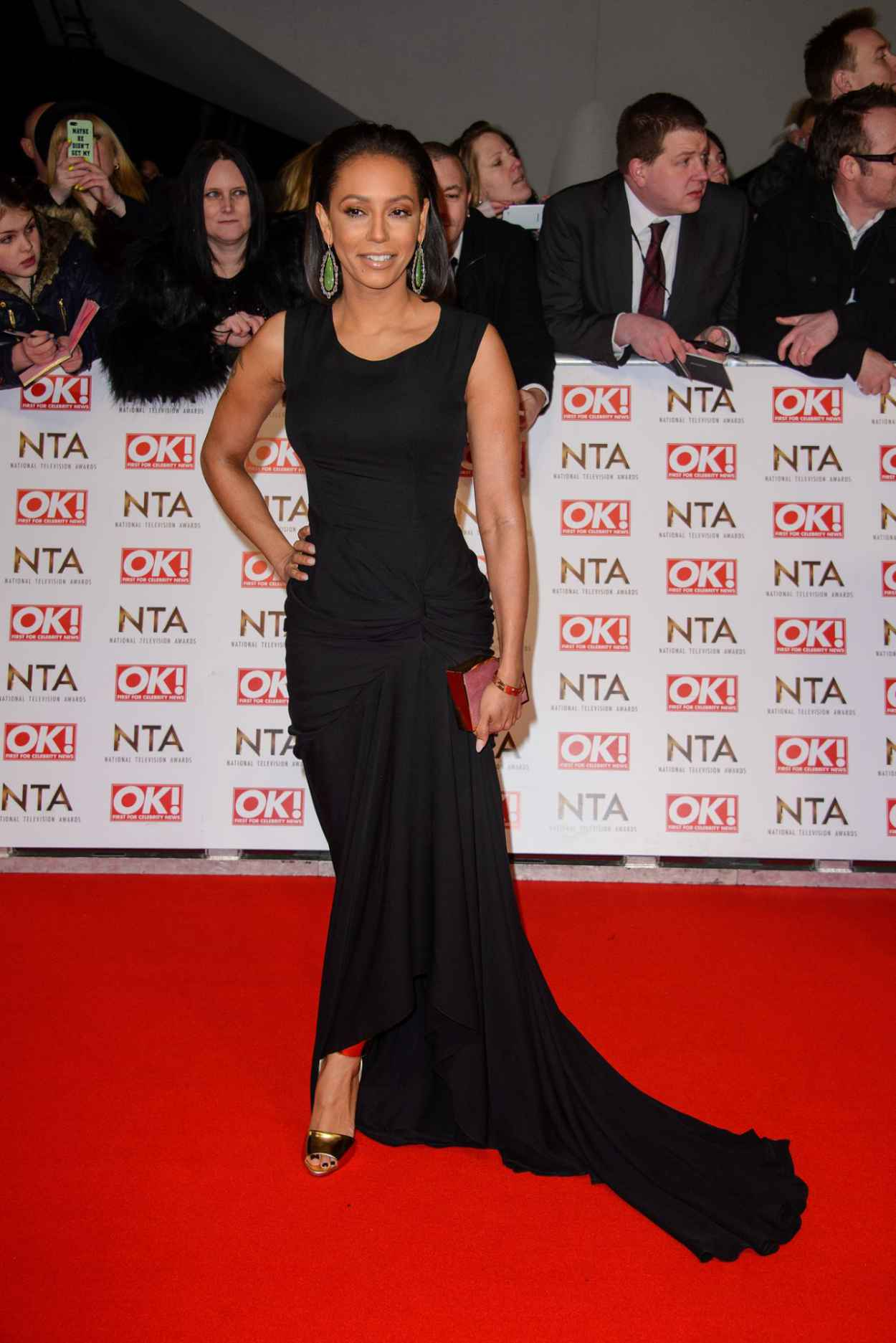 Melanie Brown - 2015 National Television Awards in London-2