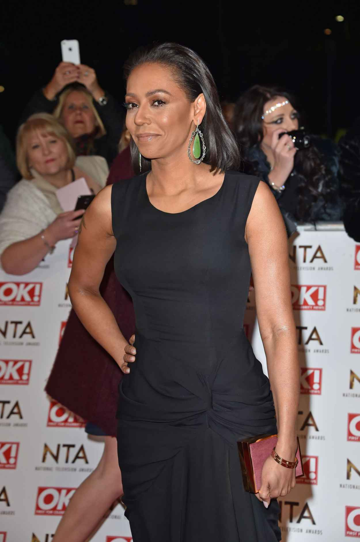 Melanie Brown - 2015 National Television Awards in London-5