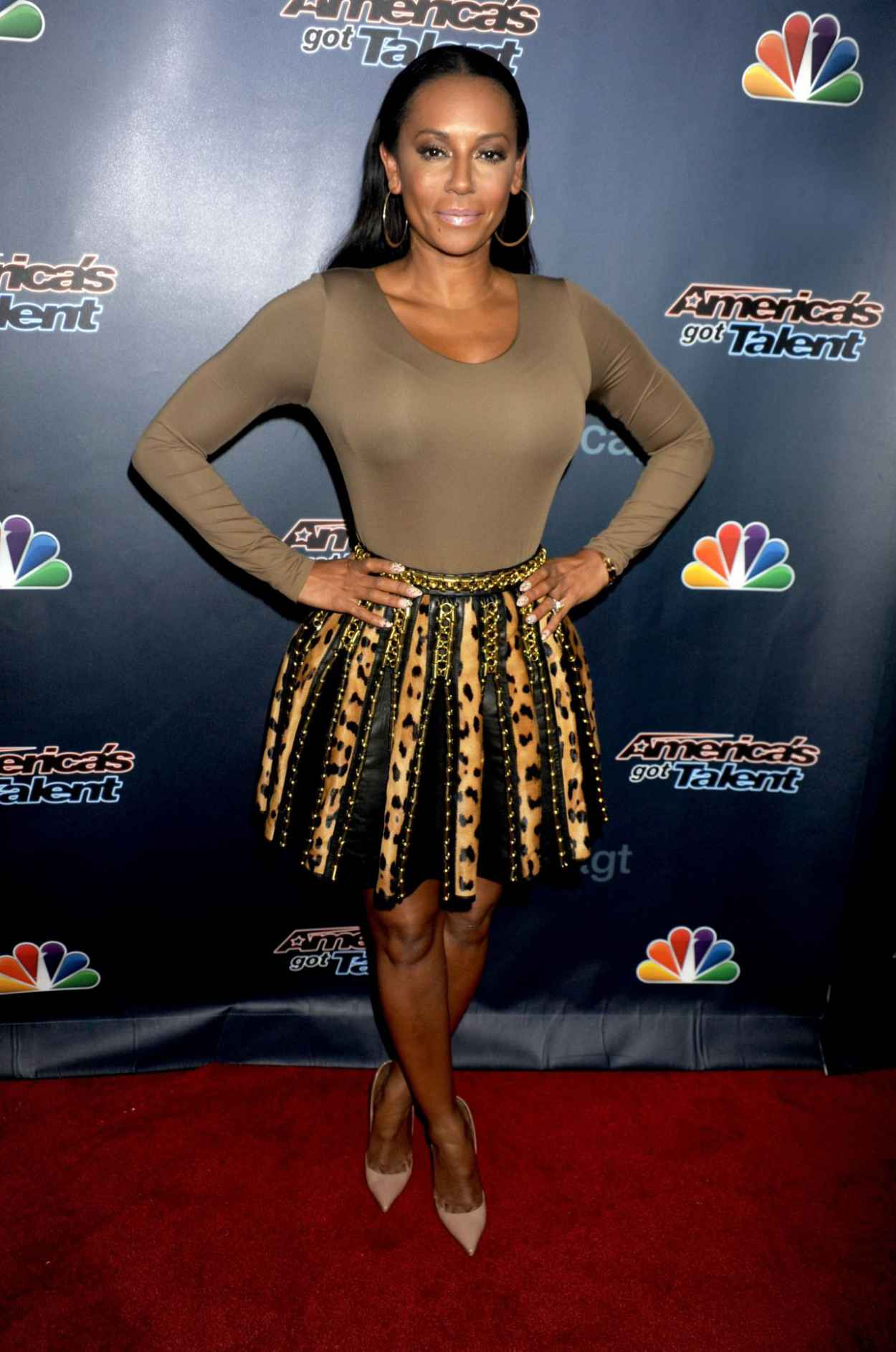 Melanie Brown - Americas Got Talent Post-Show Red Carpet in New York City - September 2015-1
