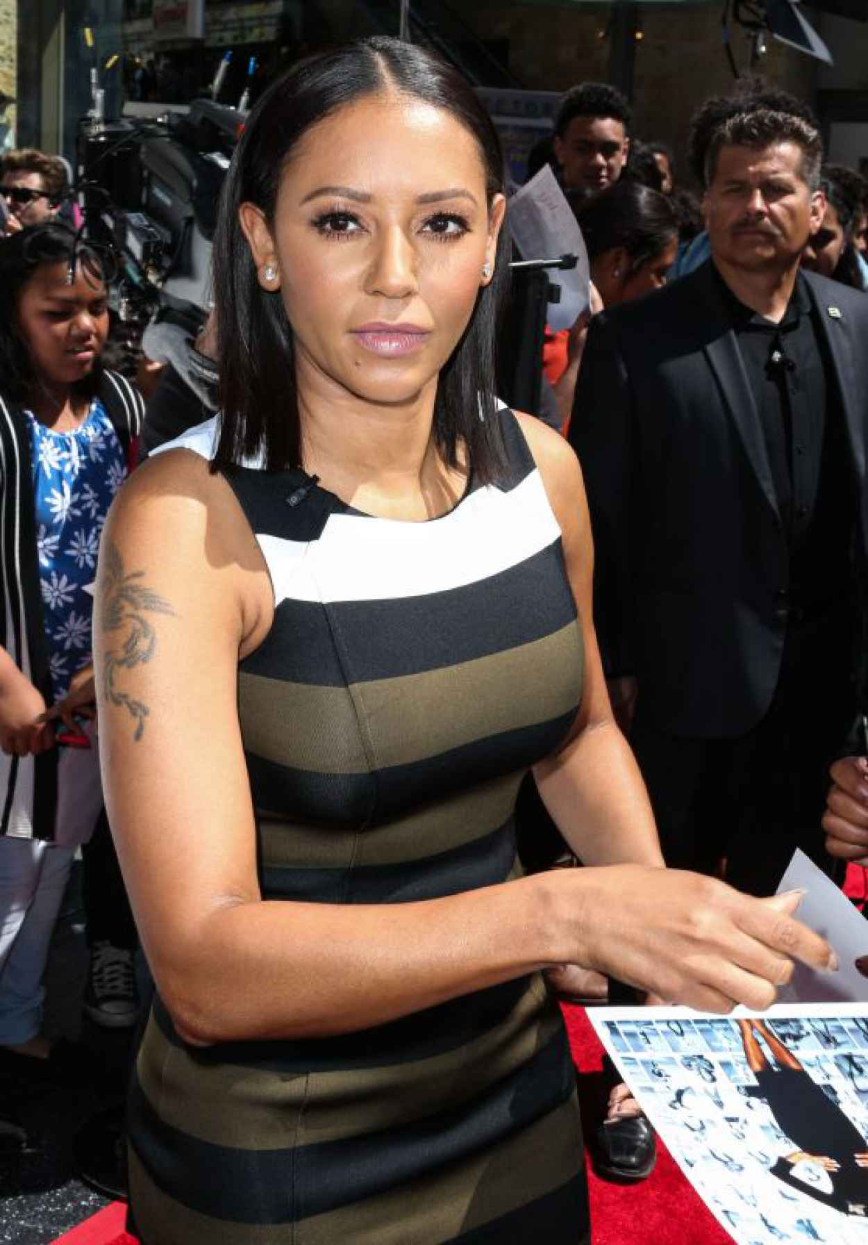 Melanie Brown - Americas Got Talent Season 10 Red Carpet Event in Hollywood-1