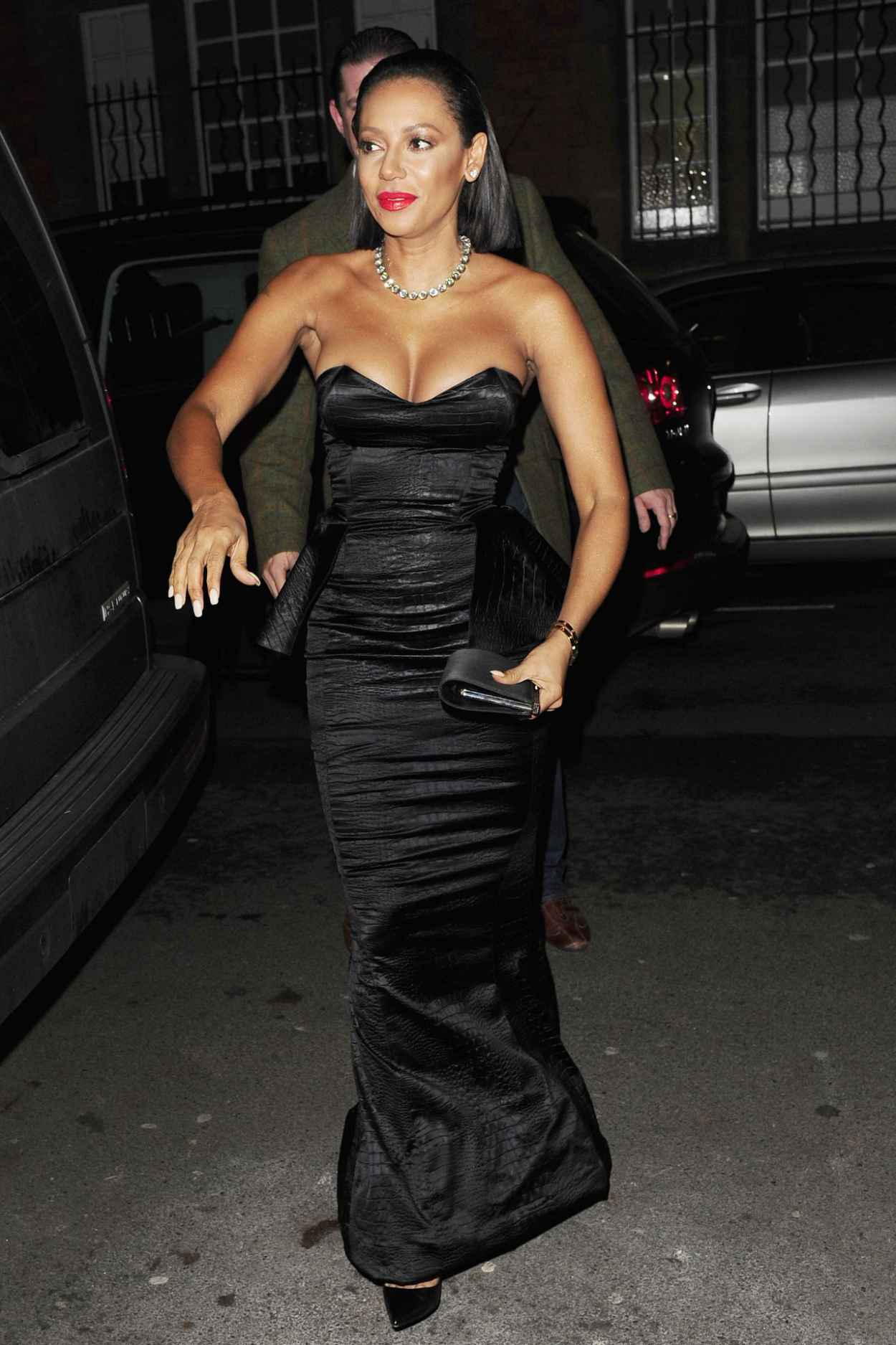 Melanie Brown Style - Katie Piper Foundation Ball in London - November 2015-1