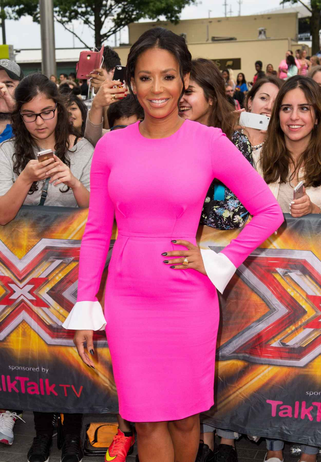 Melanie Brown - X Factor Auditions in London - August 2015-1
