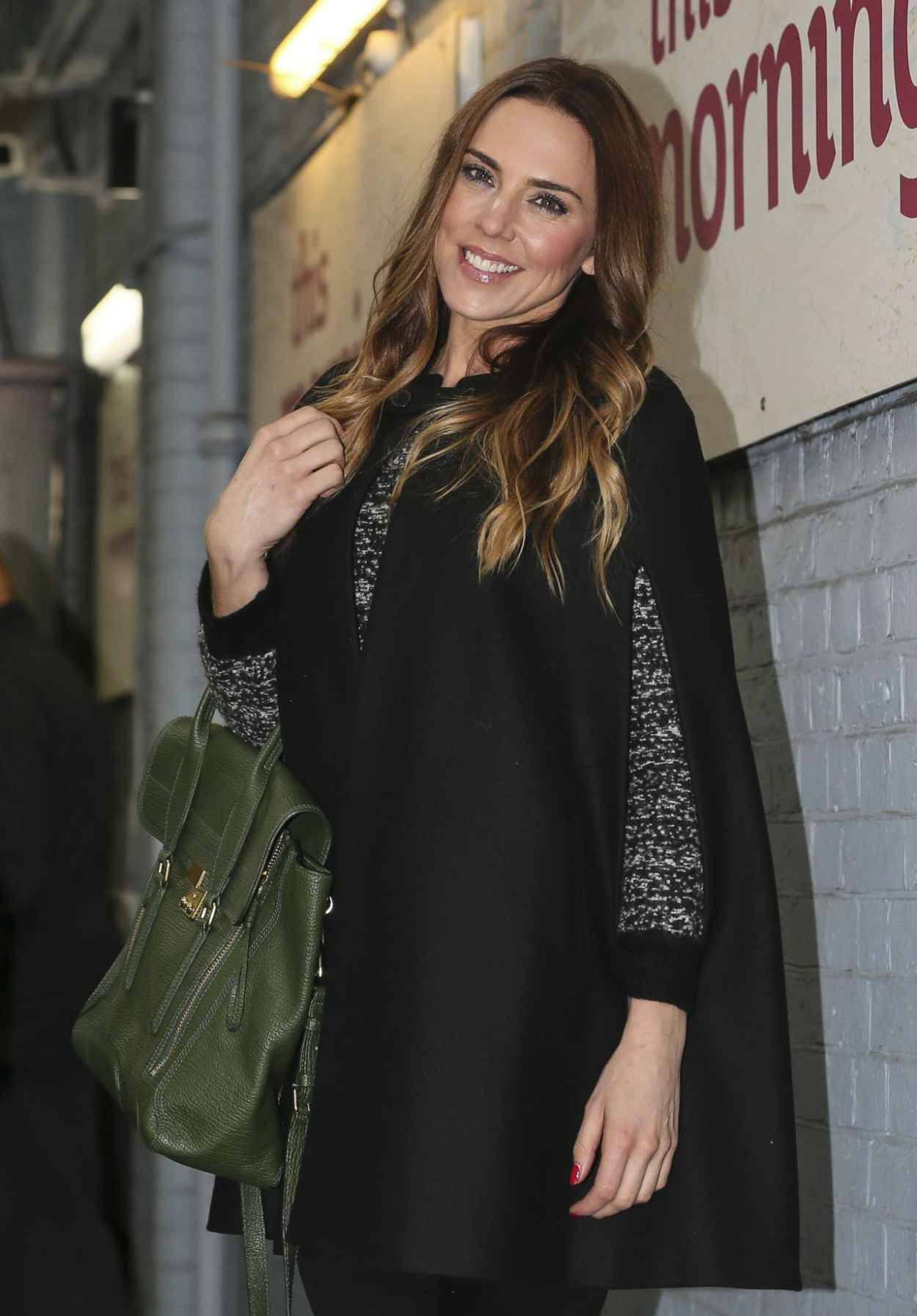 Melanie Chisholm Style - Leaving the ITV studios in London - November 2015-1