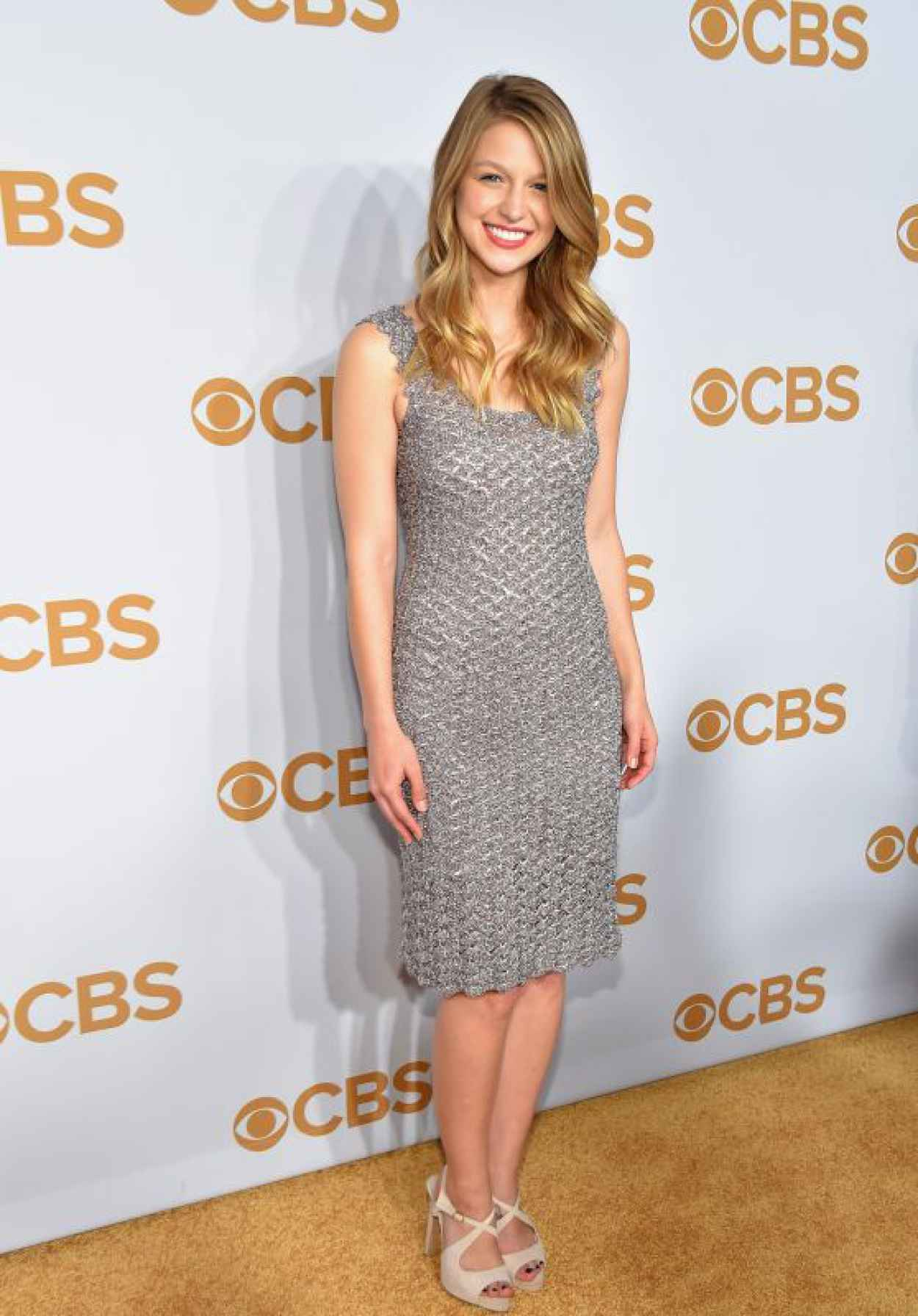 Melissa Benoist - 2015 CBS Upfront in New York City-1