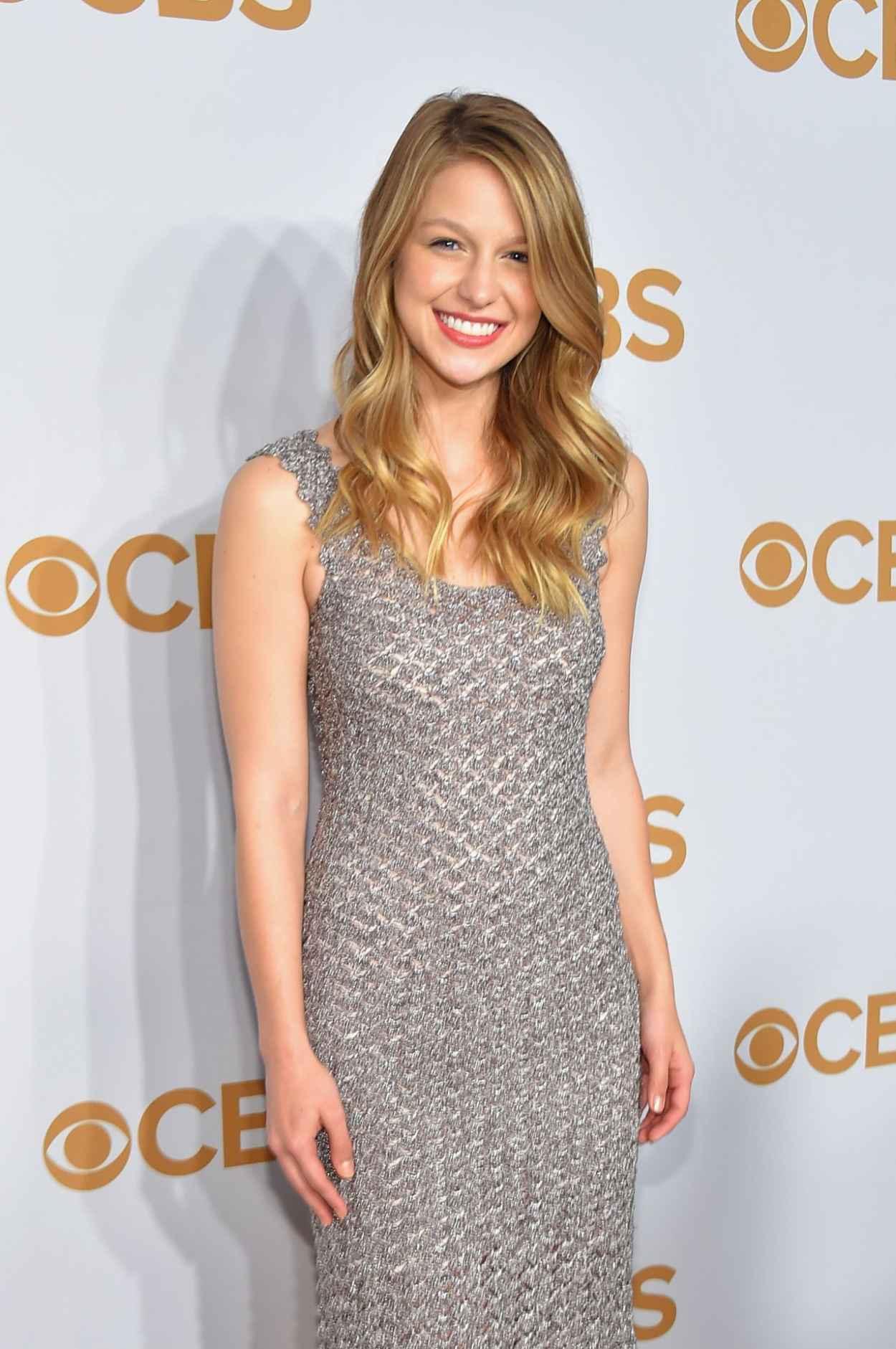 Melissa Benoist - 2015 CBS Upfront in New York City-3