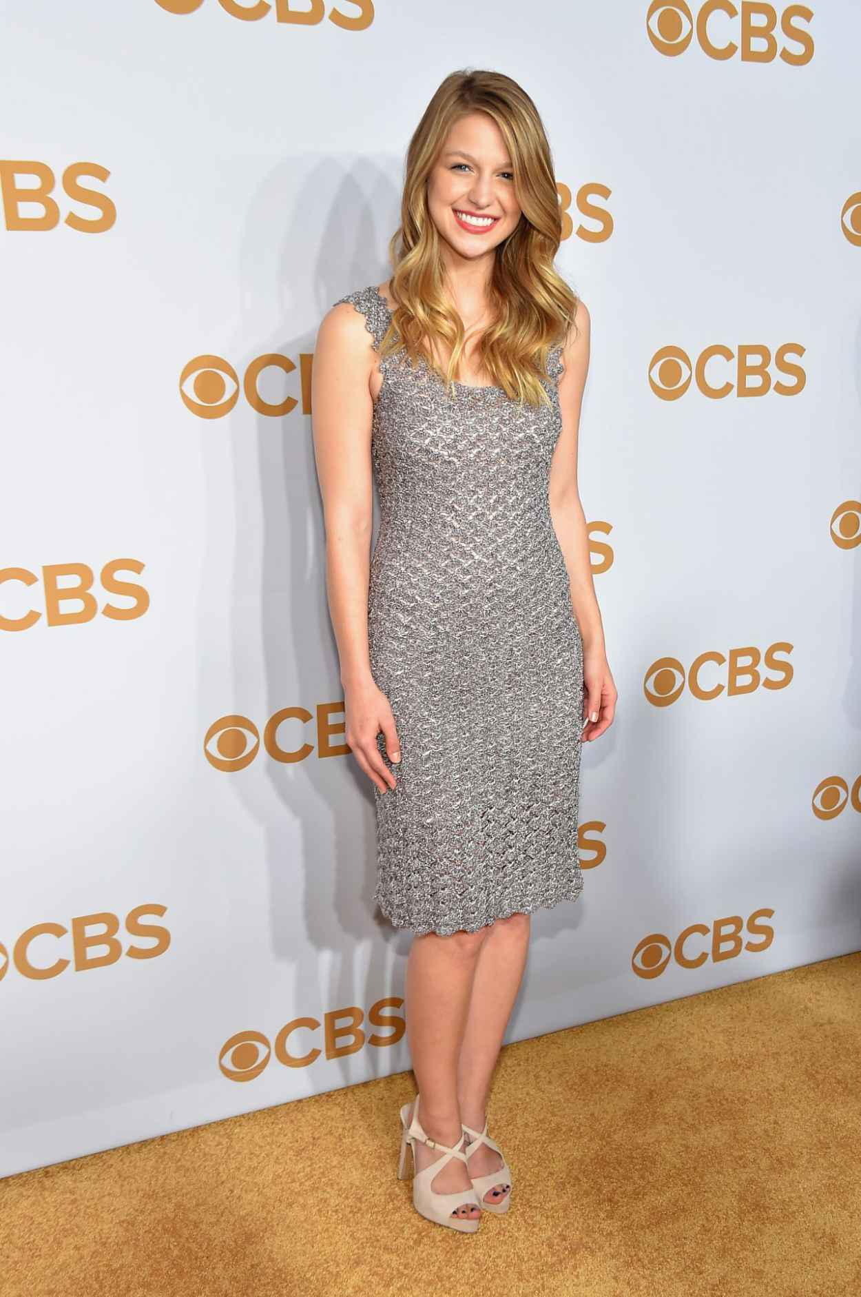 Melissa Benoist - 2015 CBS Upfront in New York City-4