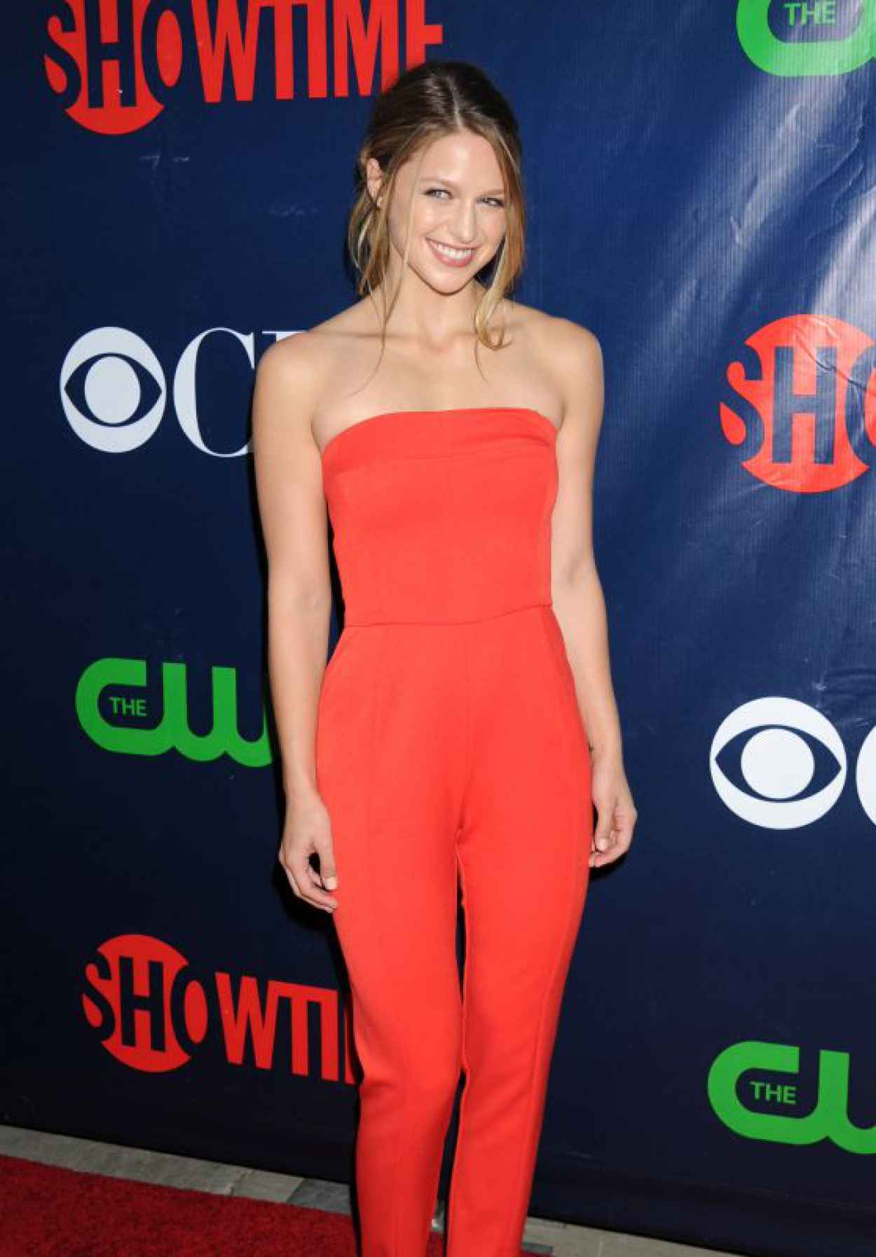 Melissa Benoist - 2015 Showtime, CBS & The CWs TCA Summer Press Tour party in Los Angeles-1