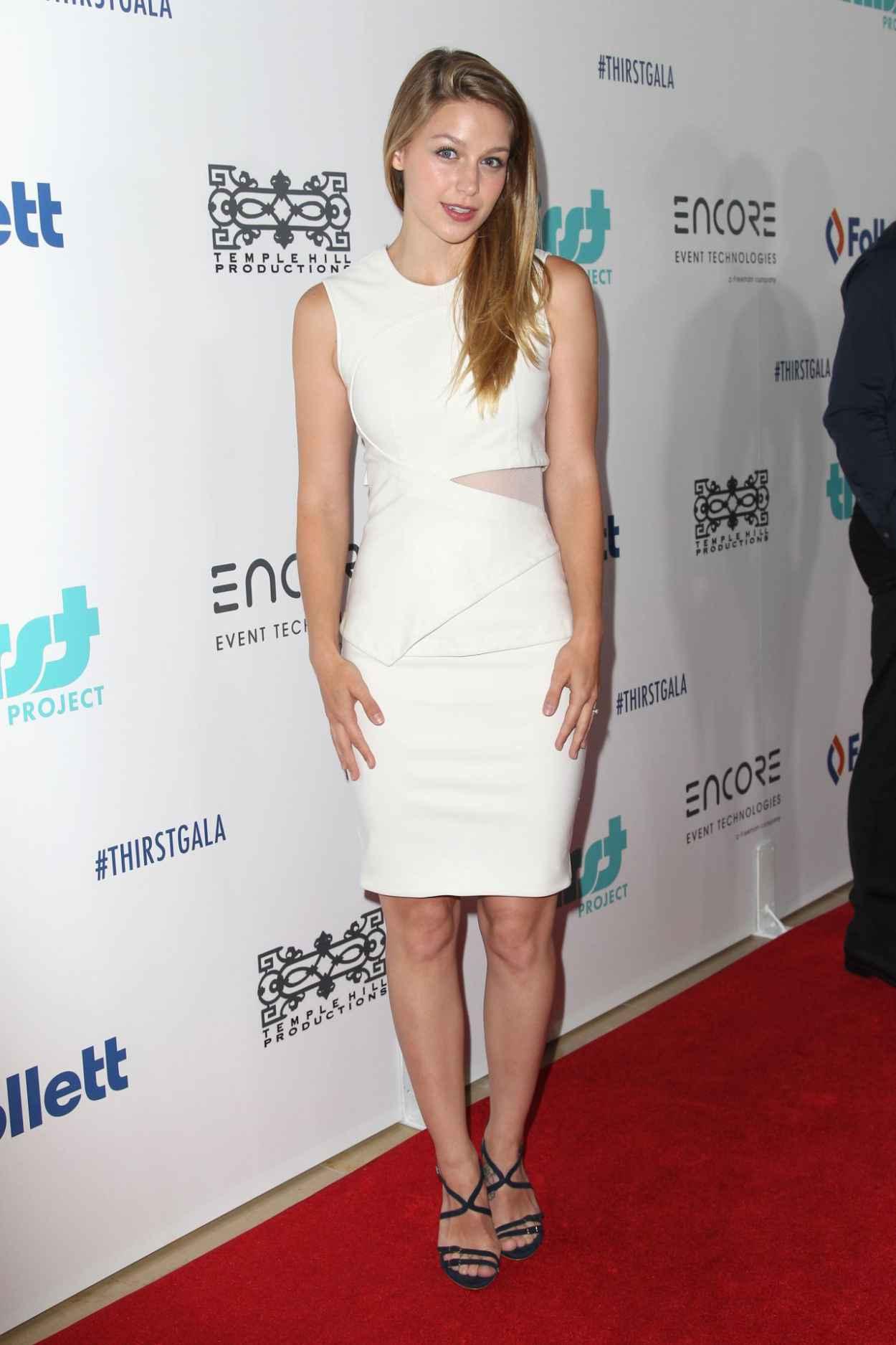 Melissa Benoist - 2015 Thirst Gala in Beverly Hills-2