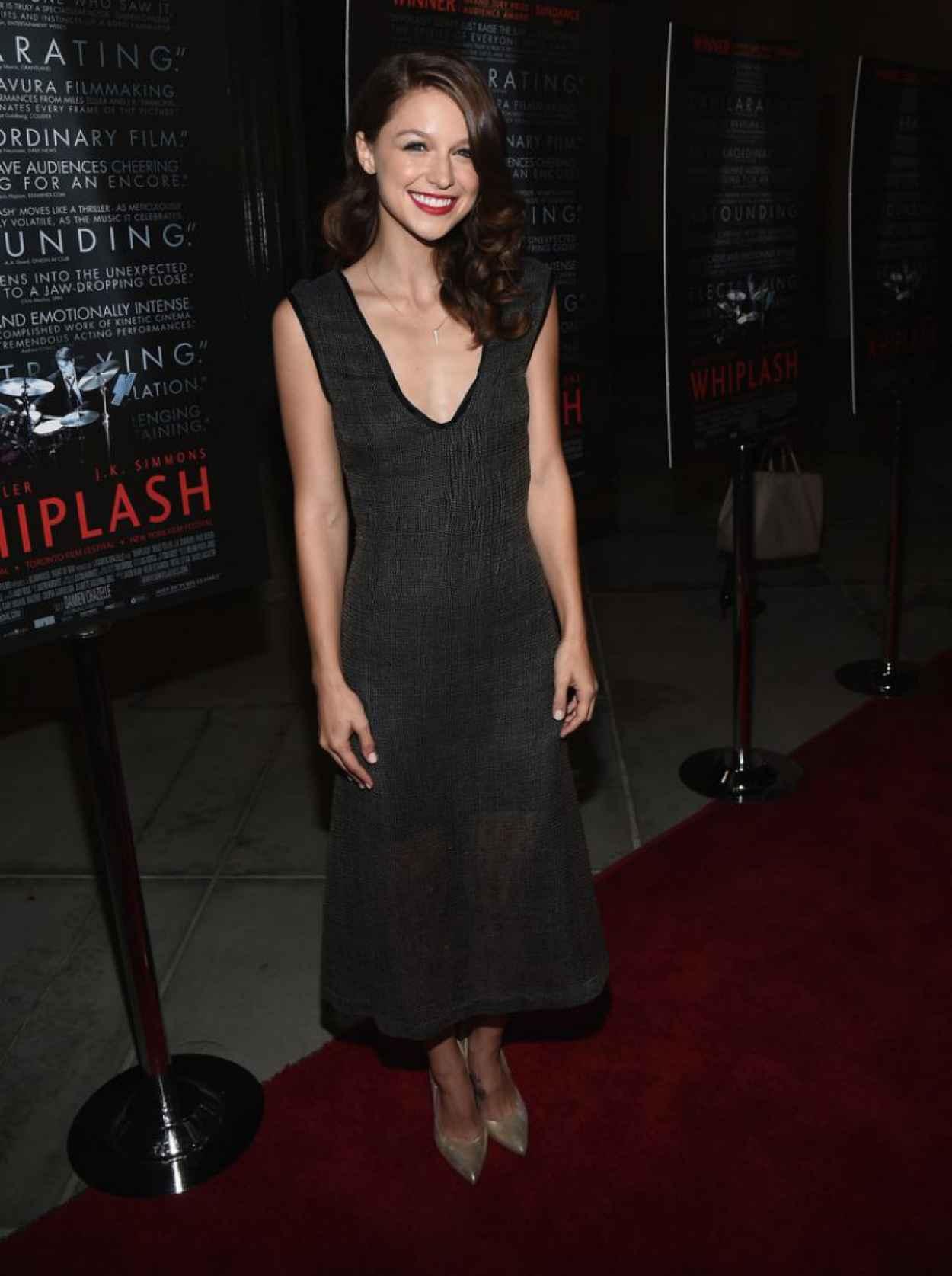 Melissa Benoist at Whiplash Premiere in Beverly Hills-1
