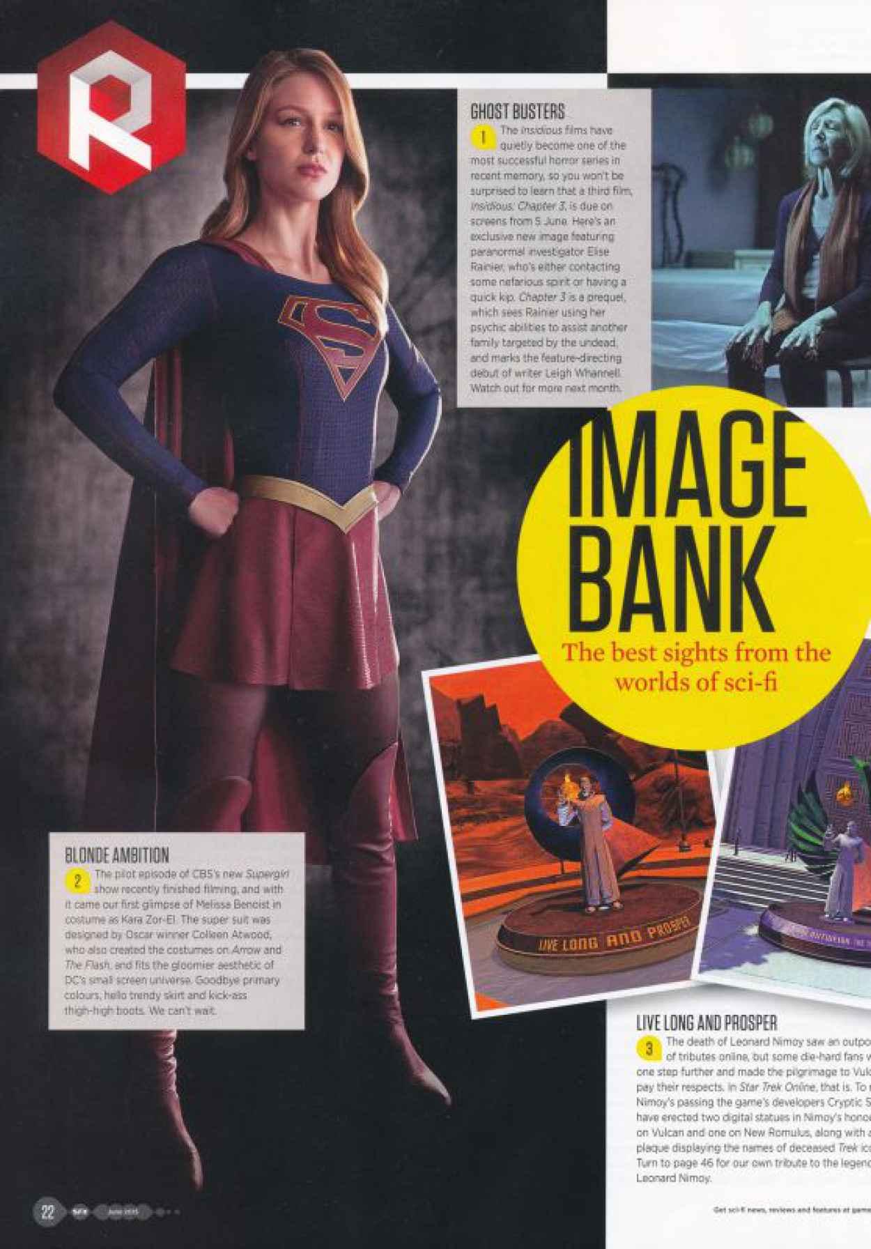 Melissa Benoist - SFX Magazine June 2015 Issue-1