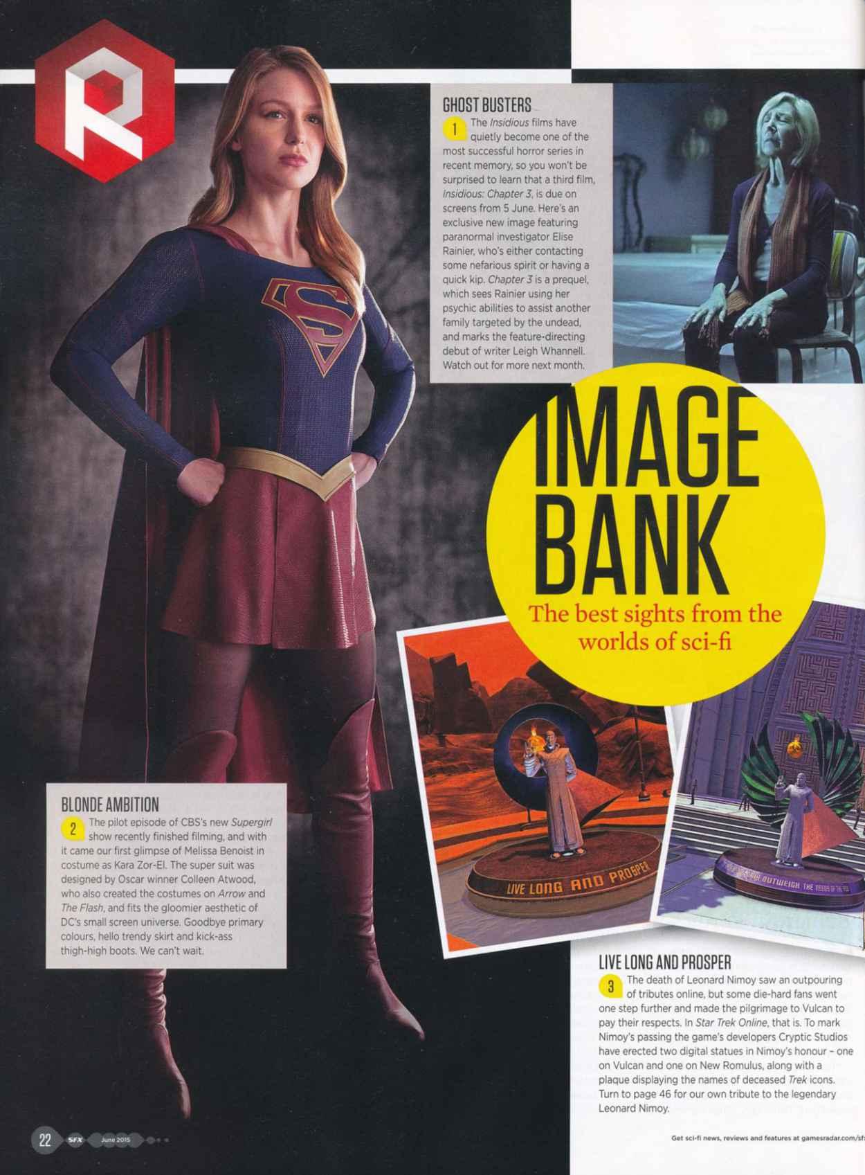 Melissa Benoist - SFX Magazine June 2015 Issue-2