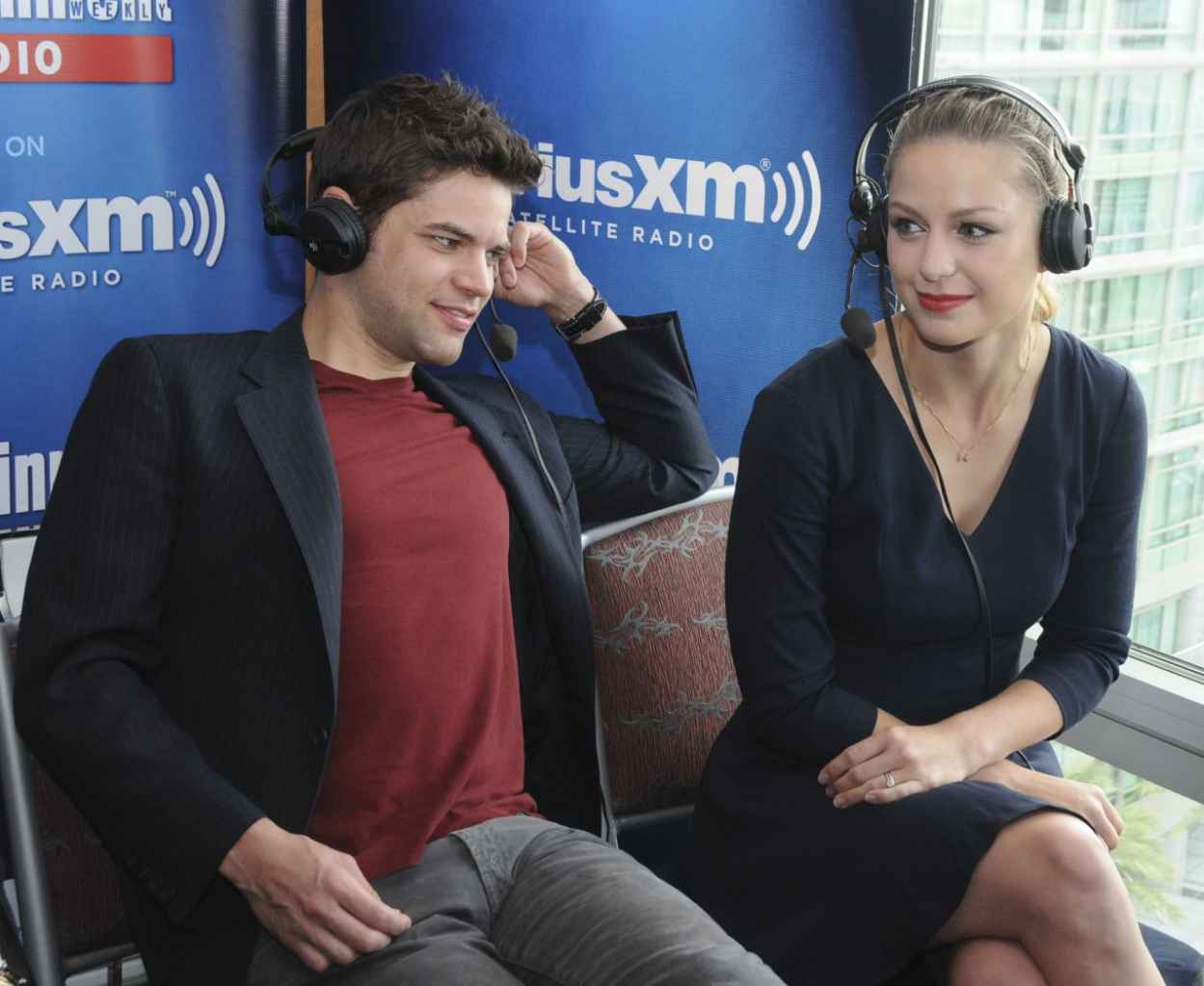 Melissa Benoist - SiriusXMs EW Radio Channel Broadcasts From Comic-Con in San Diego-4