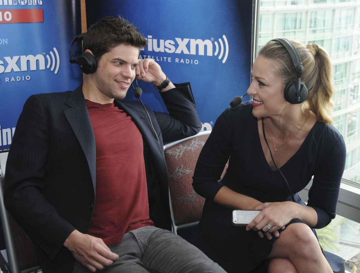 Melissa Benoist - SiriusXMs EW Radio Channel Broadcasts From Comic-Con in San Diego-5