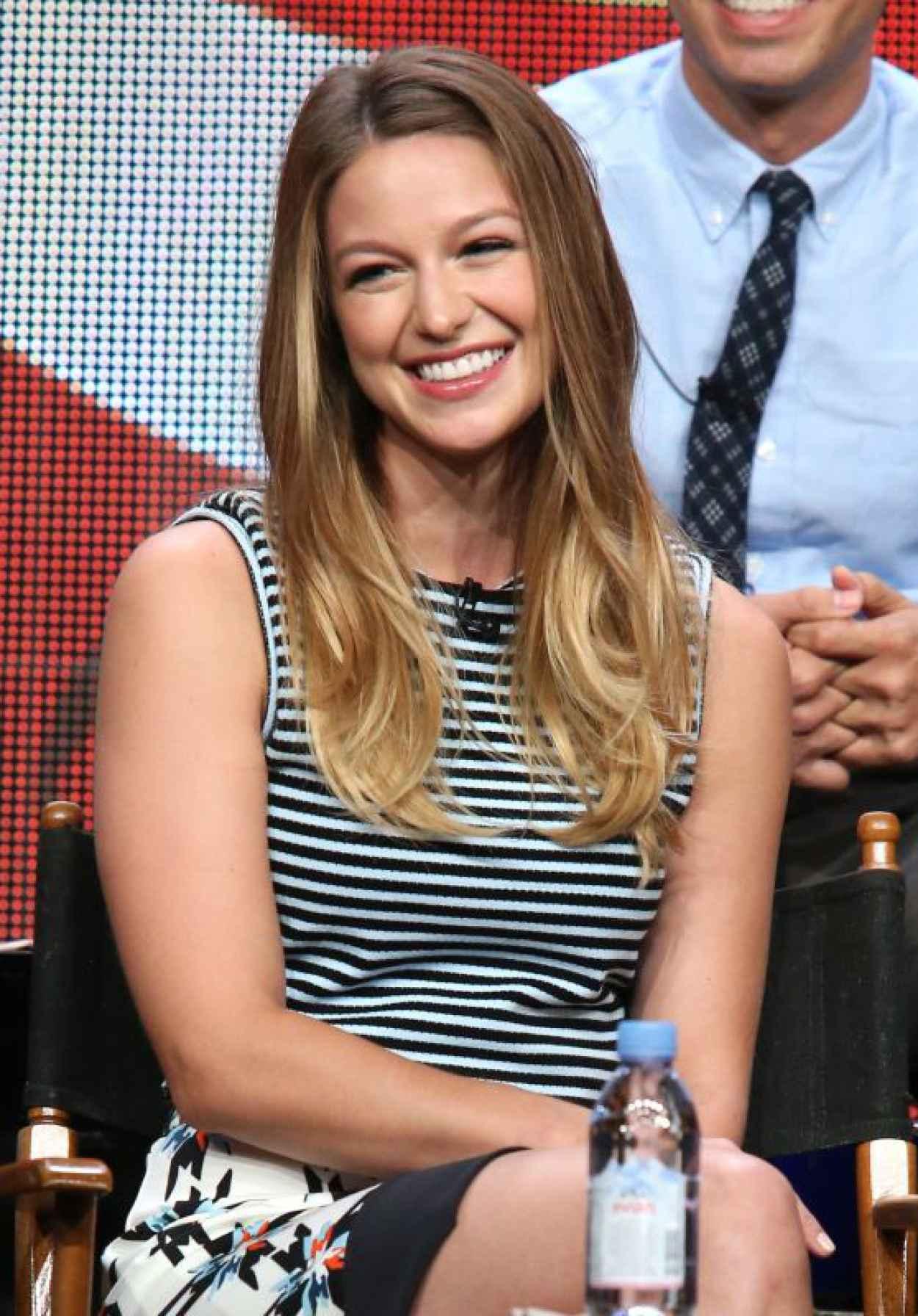 Melissa Benoist - Supergirl Panel at Summer TCA Tour in Beverly Hills-1