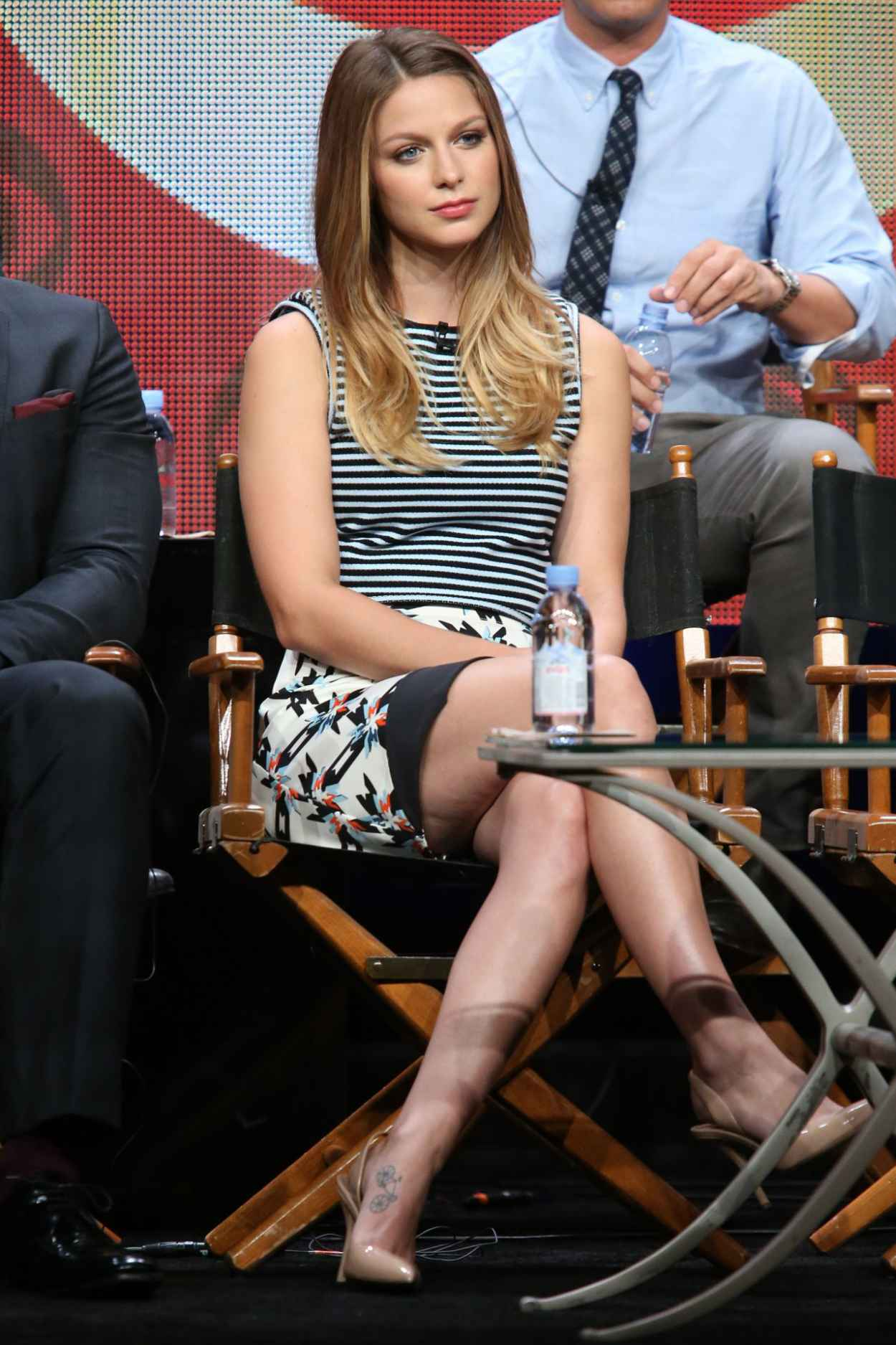 Melissa Benoist - Supergirl Panel at Summer TCA Tour in Beverly Hills-2