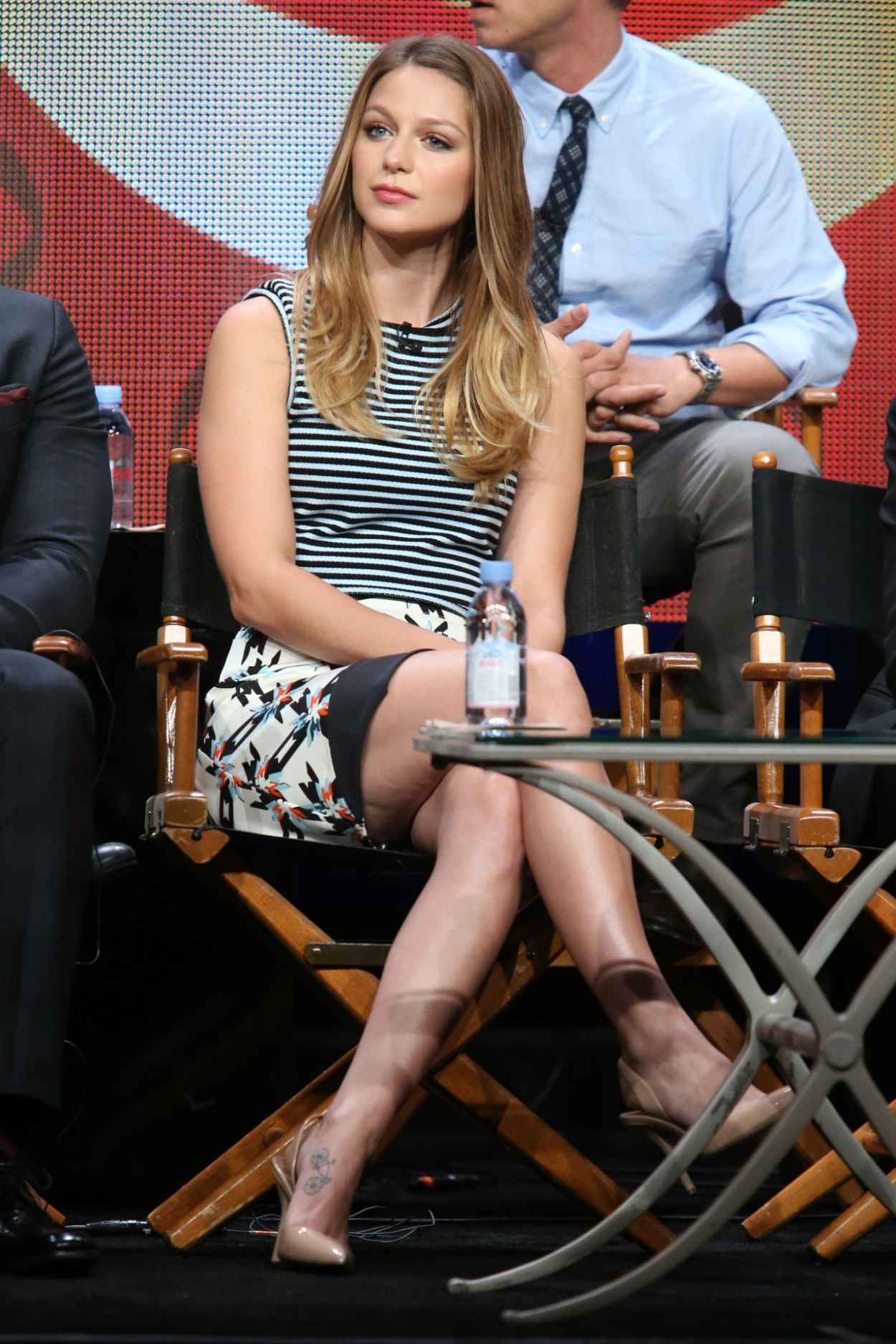 Melissa Benoist - Supergirl Panel at Summer TCA Tour in Beverly Hills-3