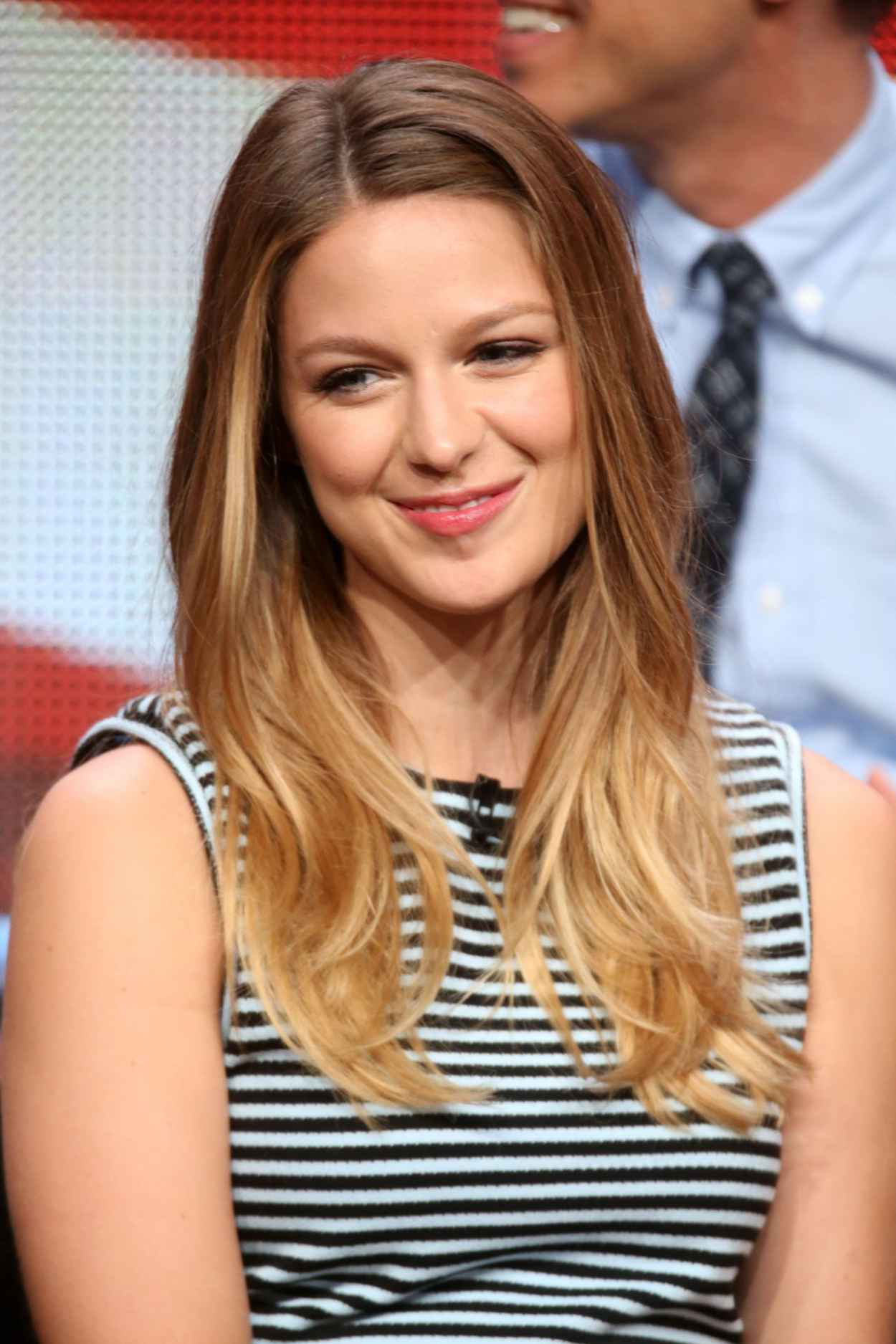 Melissa Benoist - Supergirl Panel at Summer TCA Tour in Beverly Hills-4