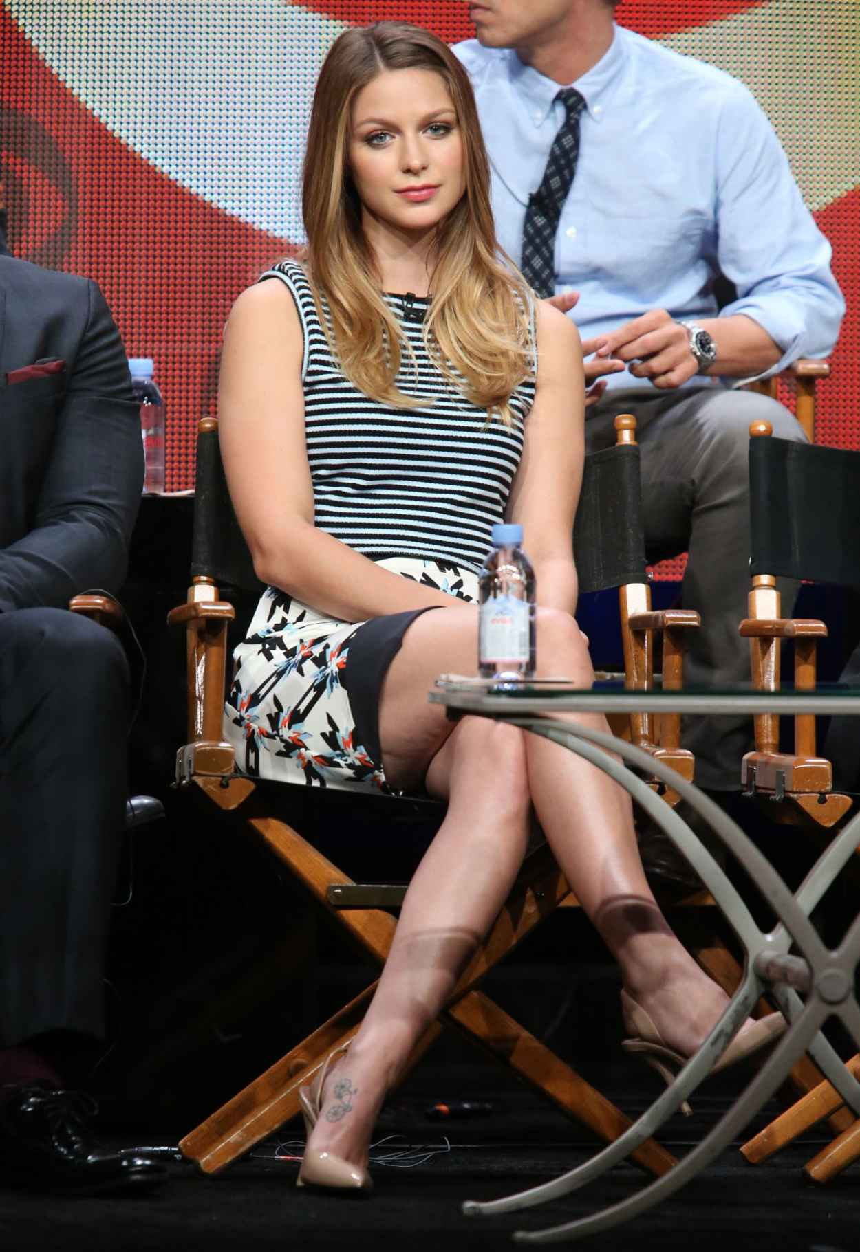 Melissa Benoist - Supergirl Panel at Summer TCA Tour in Beverly Hills-5