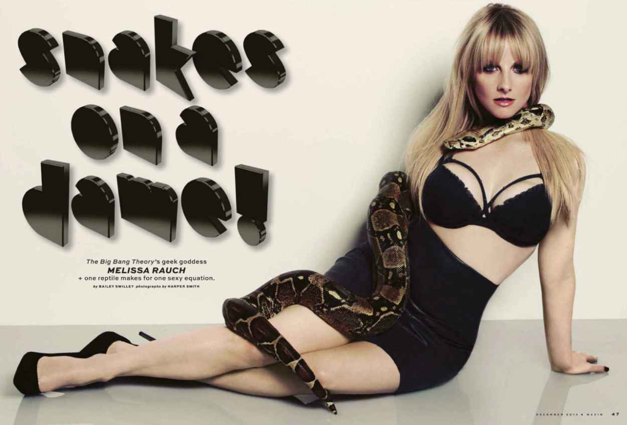 Melissa Rauch - MAXIM Magazine - December 2015 Issue-3