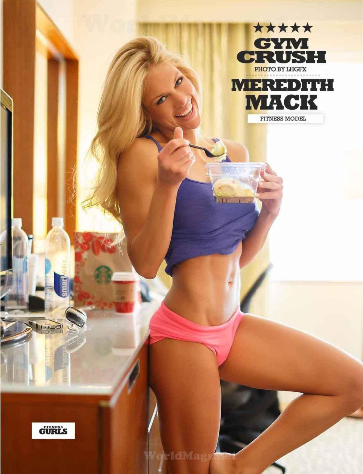 Meredith Mack - Fitness Gurls Magazine - March 2015 Issue-1