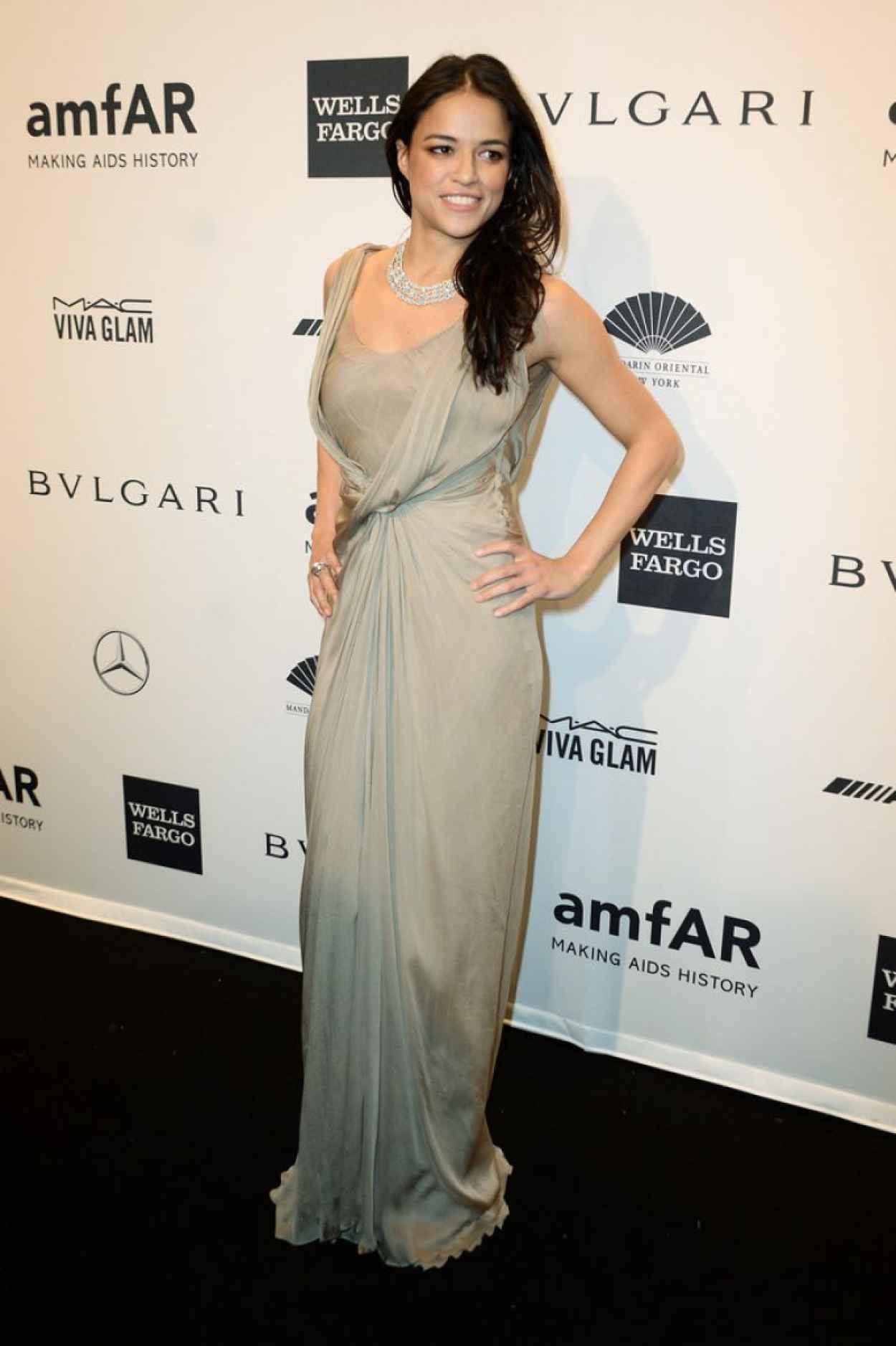 Michelle Rodriguez - 2015 amfAR New York Gala-1