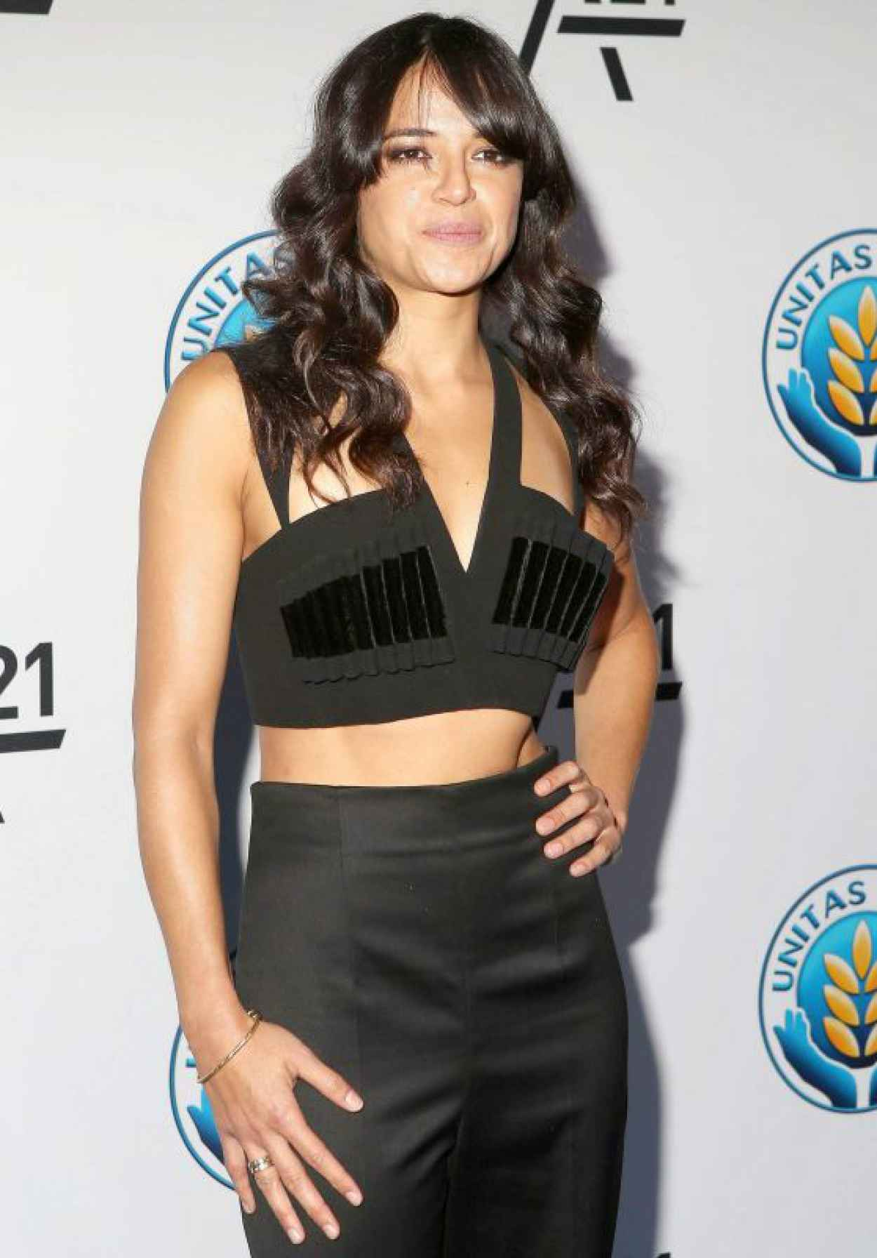 Michelle Rodriguez - Attends the Unitas Gala Against Sex Trafficking at Capitale, September 2015-1