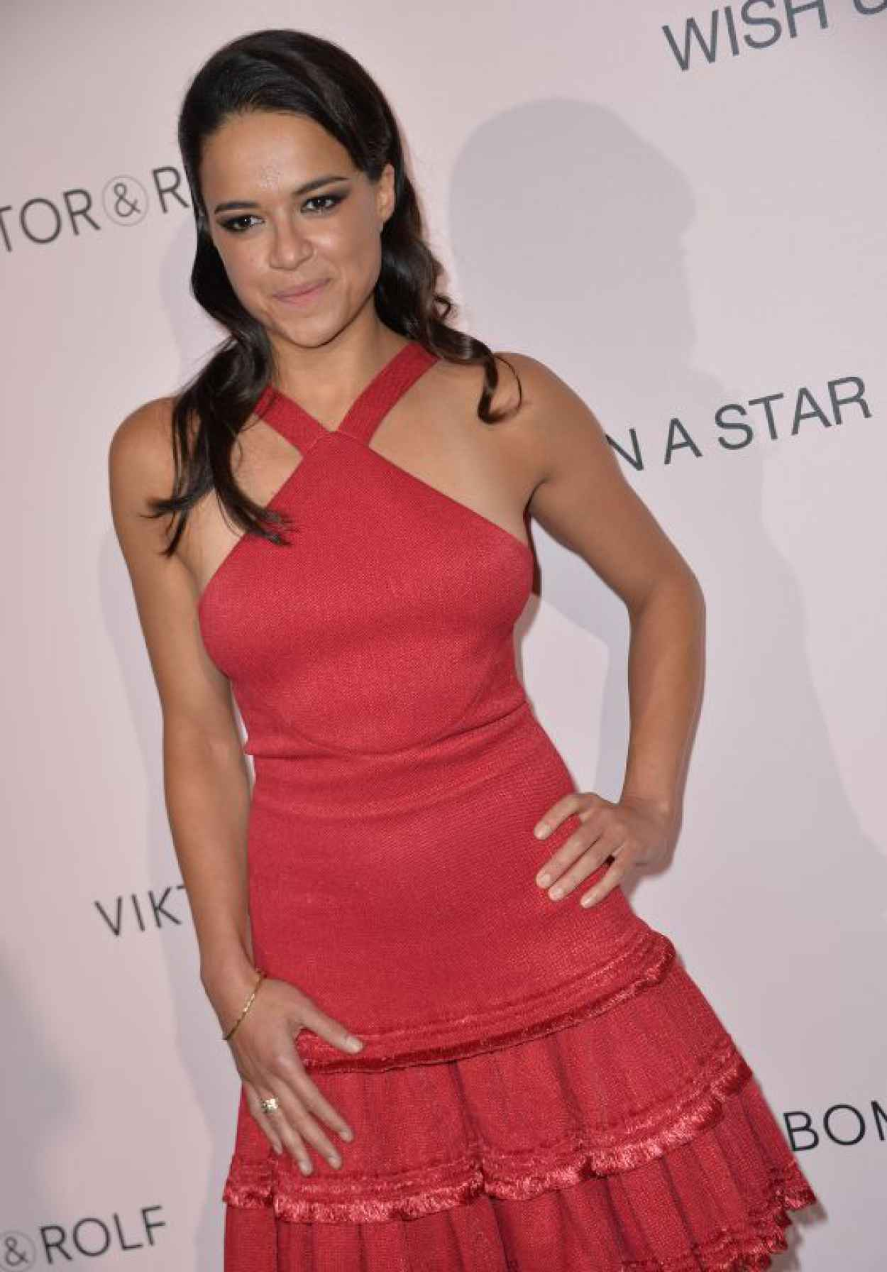 Michelle Rodriguez - Viktor&Rolf FlowerBomb Fragrance 10th Anniversary Party in Paris-1