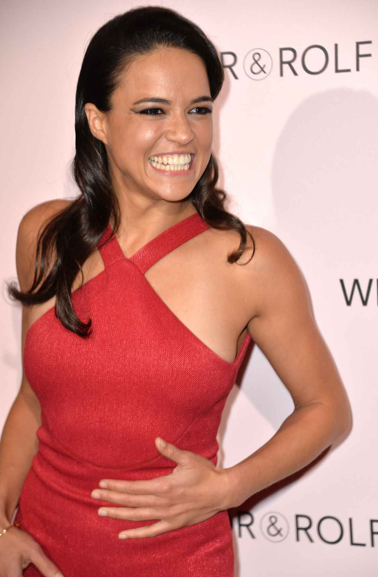 Michelle Rodriguez - Viktor&Rolf FlowerBomb Fragrance 10th Anniversary Party in Paris-3