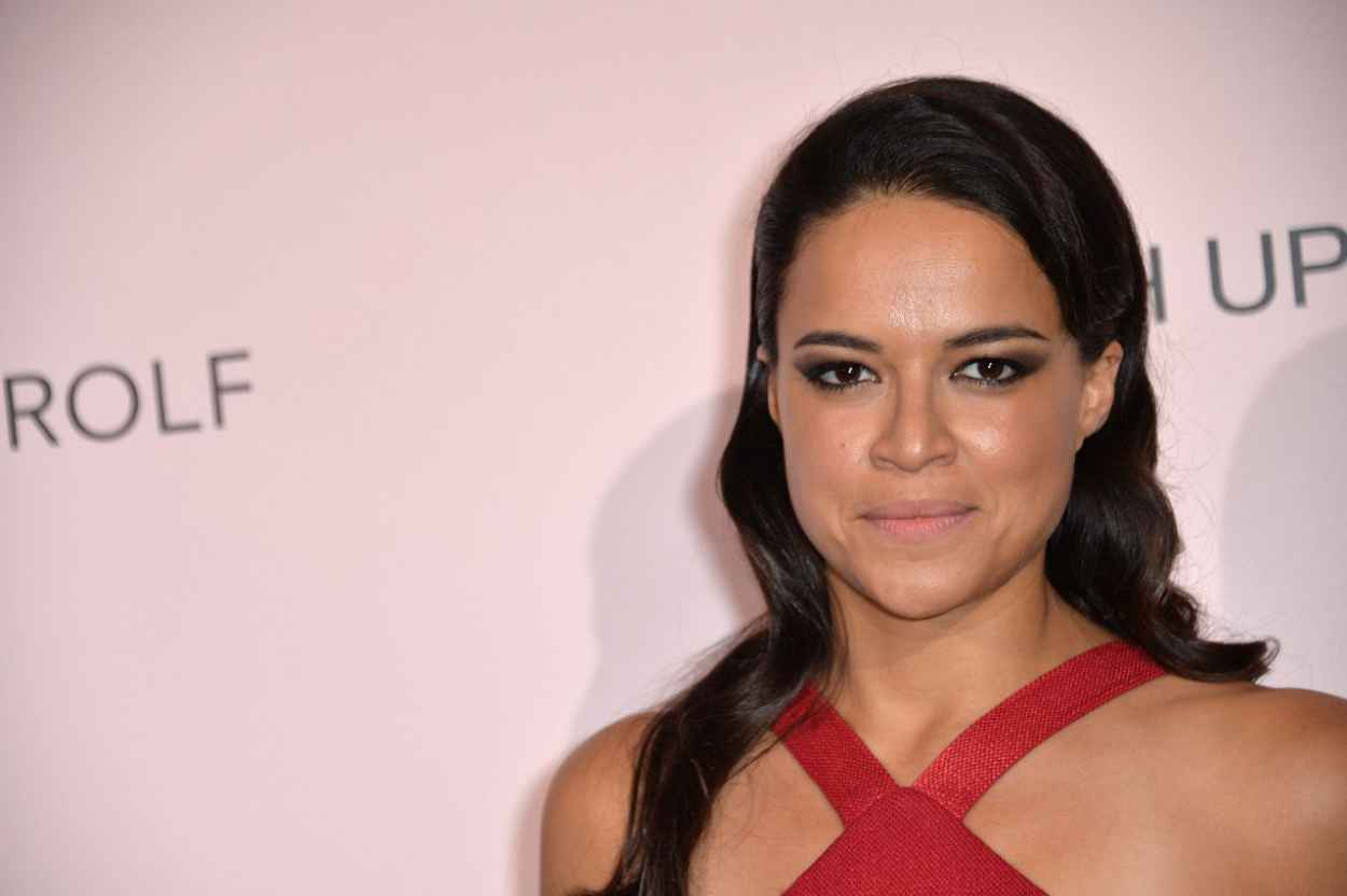 Michelle Rodriguez - Viktor&Rolf FlowerBomb Fragrance 10th Anniversary Party in Paris-5