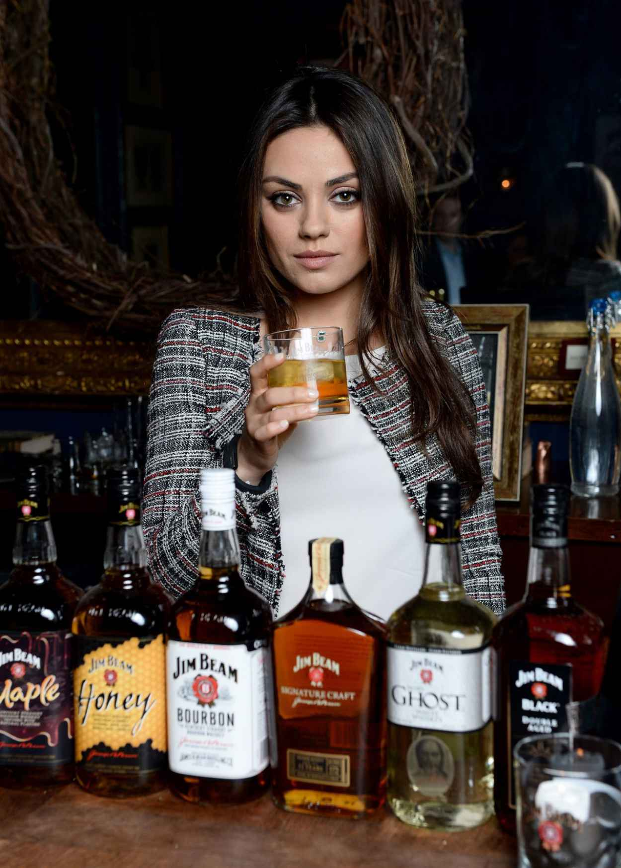 Mila Kunis - Jim Beam Make History Cocktail Reception, February 2015-1