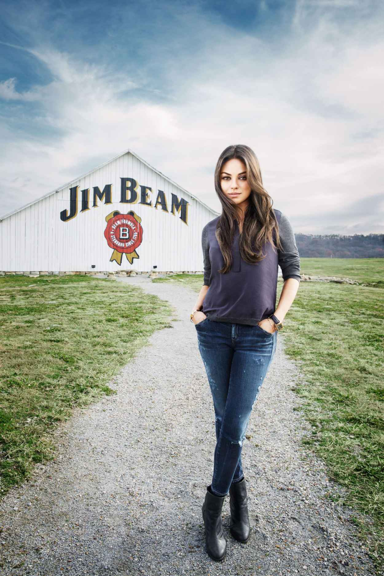 Mila Kunis - Jim Beam Promo Photo-1