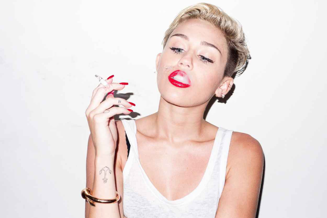Miley Cyrus - Photoshoot by Terry Richardson (2013)-1
