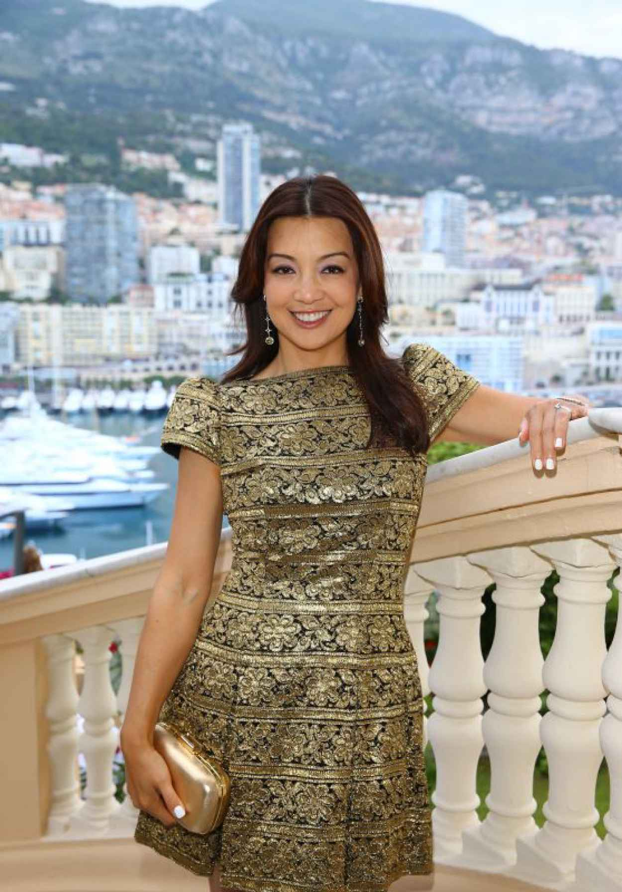 Ming-Na Wen - 2015 Monte Carlo Television Festival Cocktail Party-1