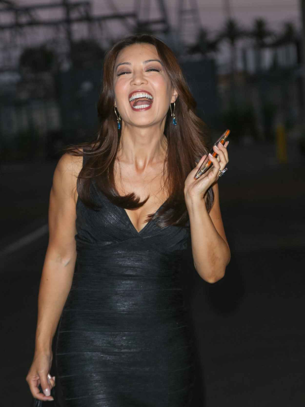 Ming-Na Wen at a Studio in Los Angeles, August 2015-2