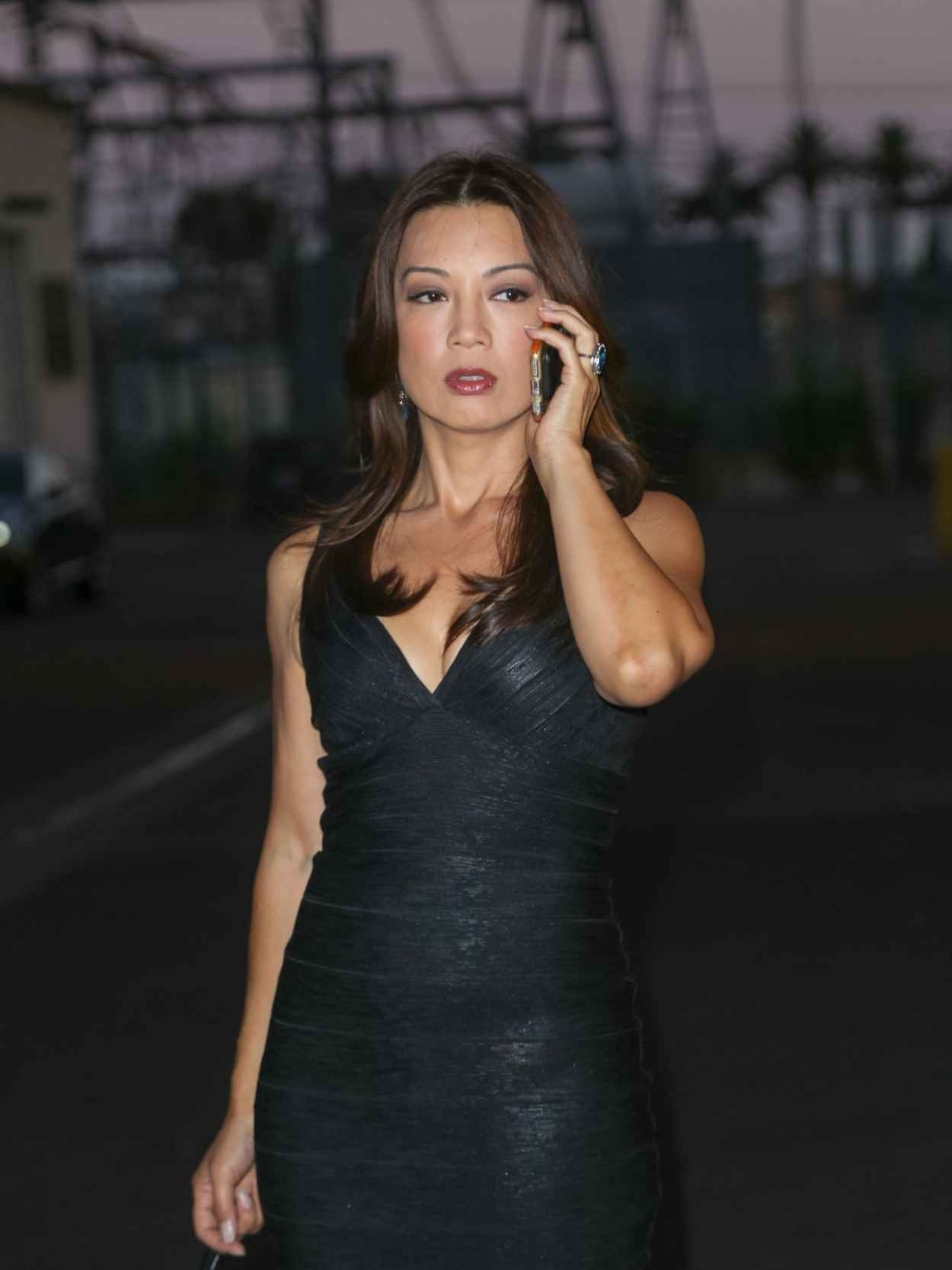 Ming-Na Wen at a Studio in Los Angeles, August 2015-4