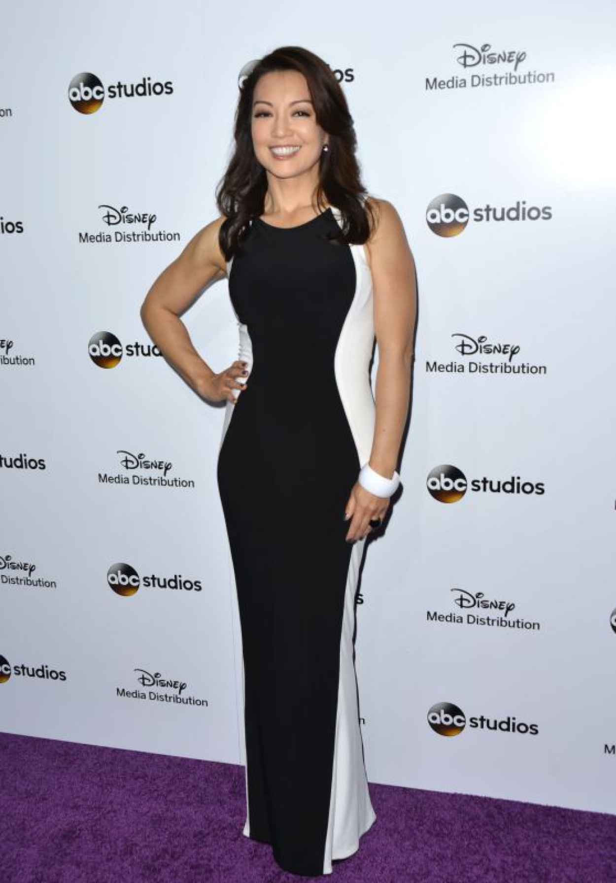 Ming-Na Wen- Disney Media Distribution 2015 International Upfront in Burbank-1