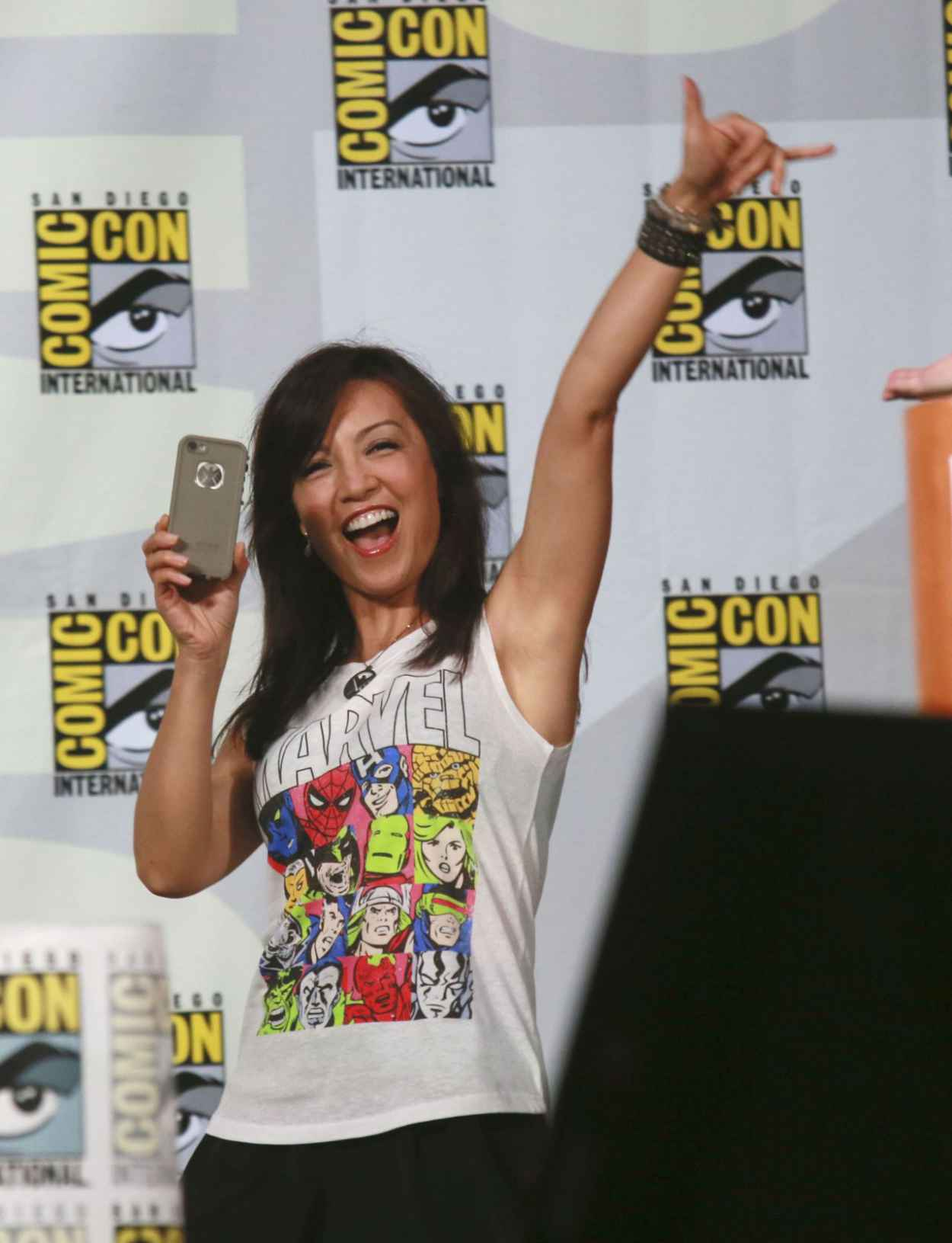 Ming-Na Wen - Marvels Agents of S.H.I.E.L.D Comic-Con 2015 Panel-1
