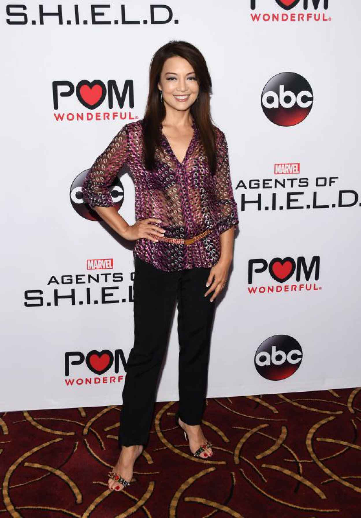 Ming-Na Wen - Marvels Agents of SHIELD Season 3 Premiere in Los Angeles-1