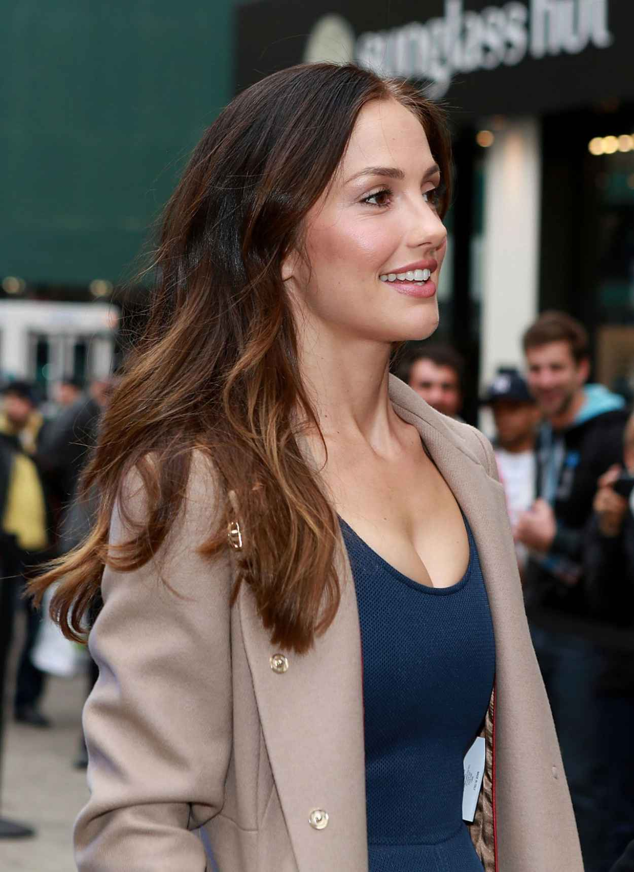 Minka Kelly - FOXs ALMOST HUMAN Experience in New York City-1
