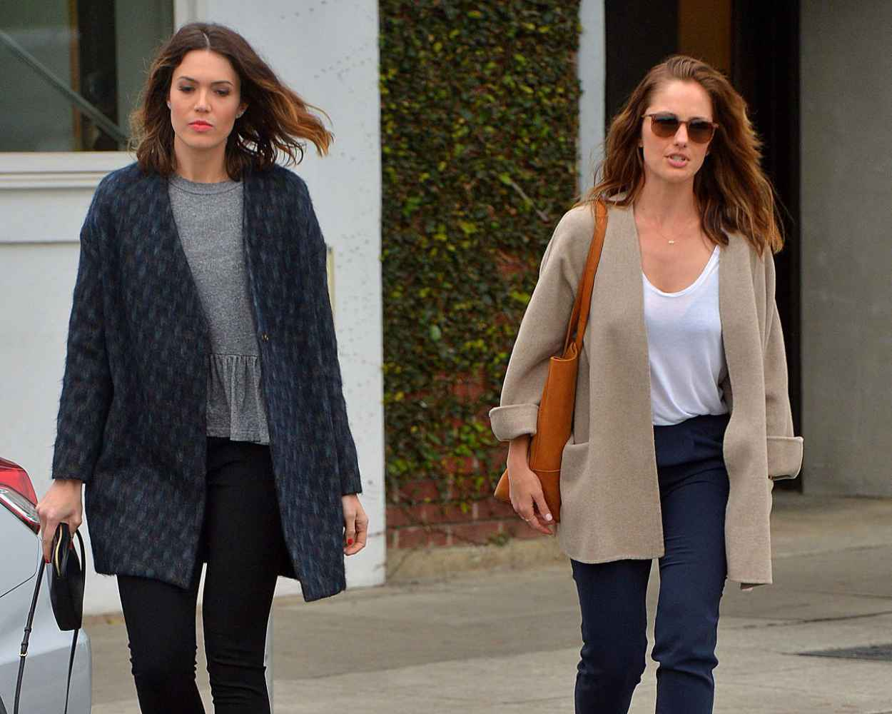 Minka Kelly & Mandy Moore - Out in Los Angeles - March 2015-1