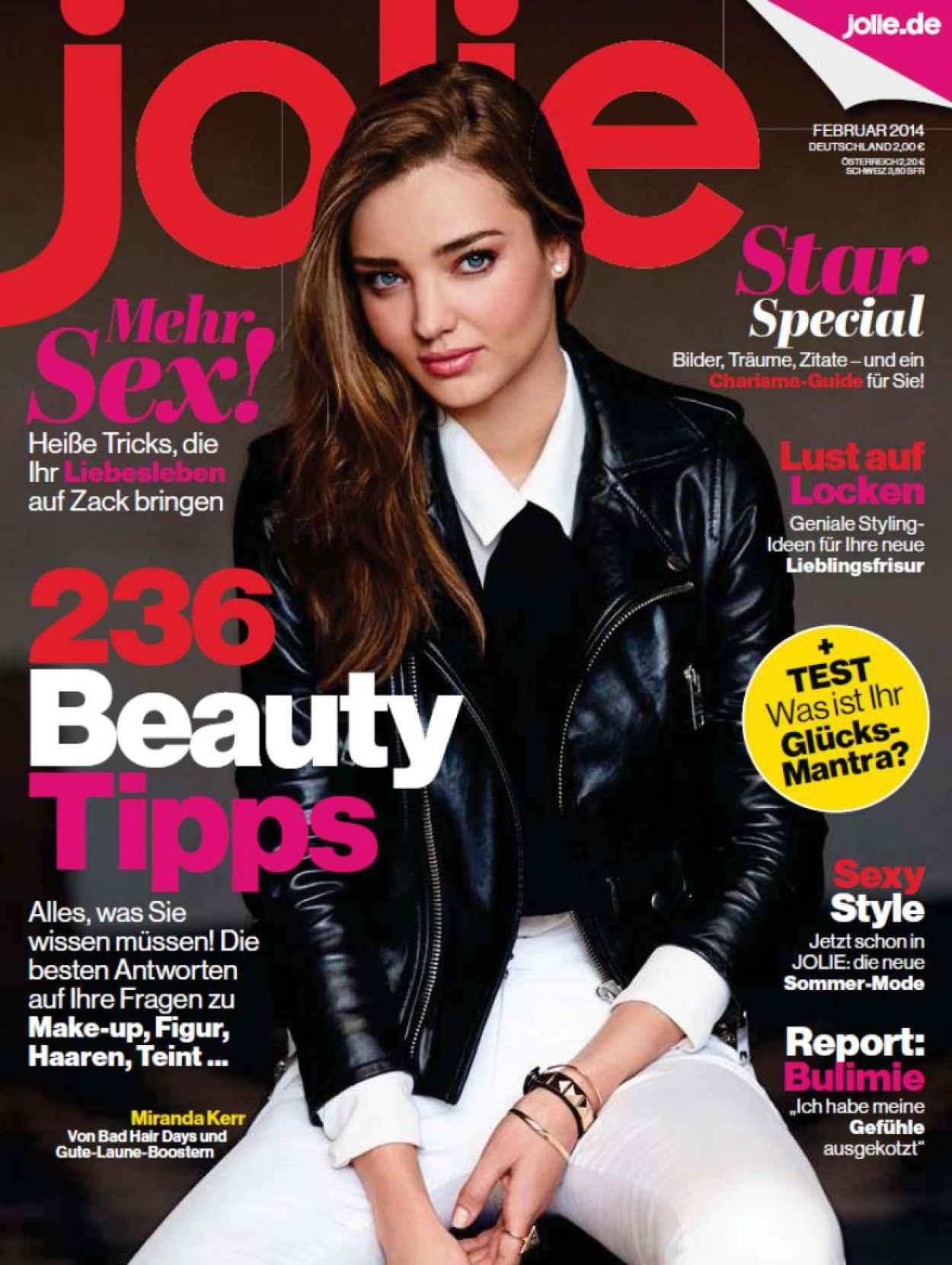 Miranda Kerr - JOLIE FRAUENMAGAZIN Magazine - February 2015 Issue-1