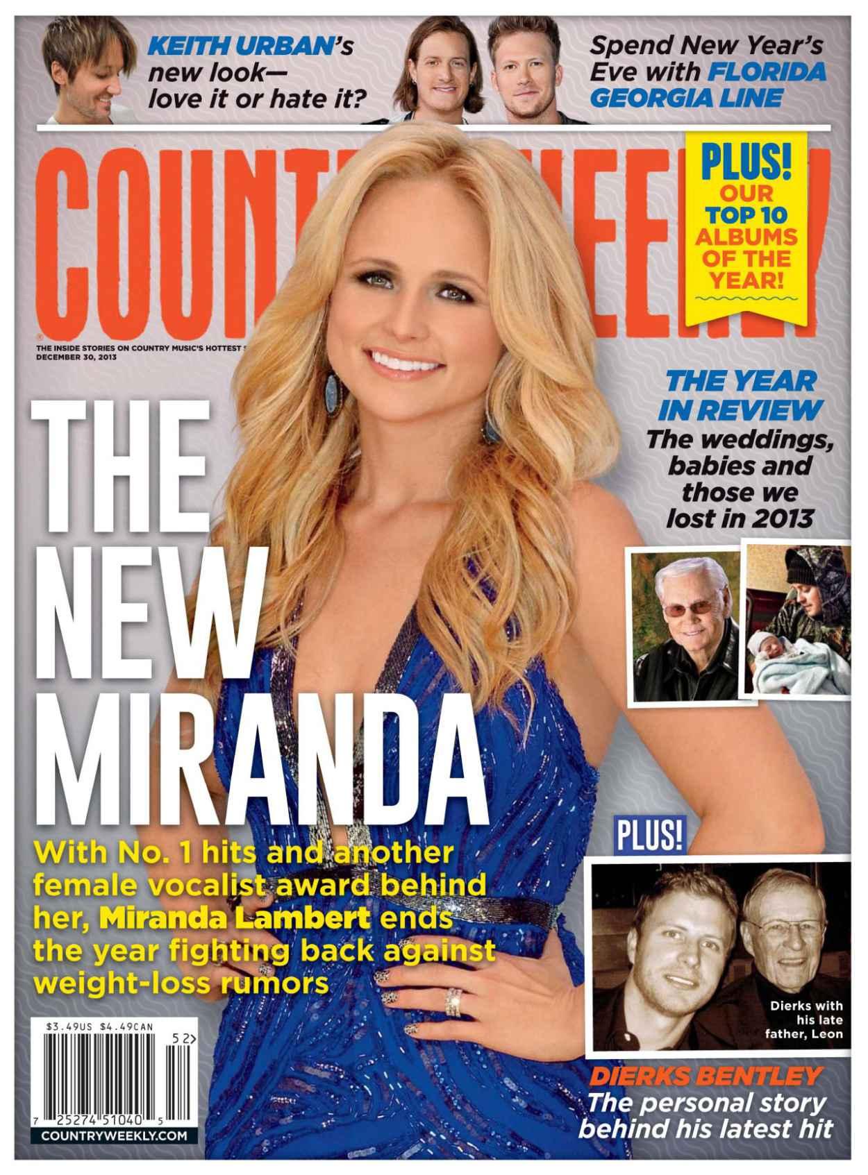 Miranda Lambert - COUNTRY WEELKY - December 30, 2015 Issue-1