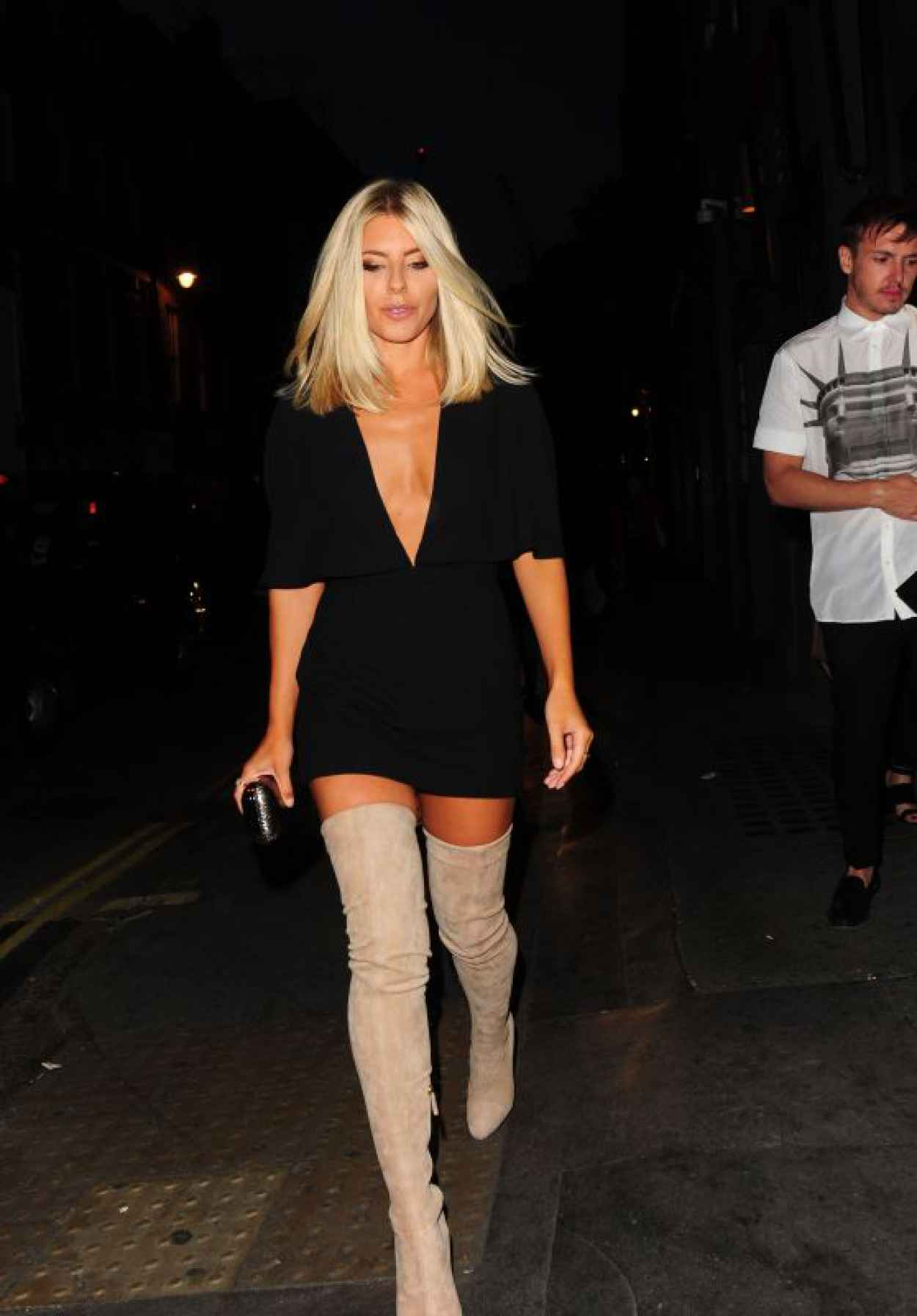 Mollie King - Notion Magazine X Swatch Issue 70 Launch Party in London-1