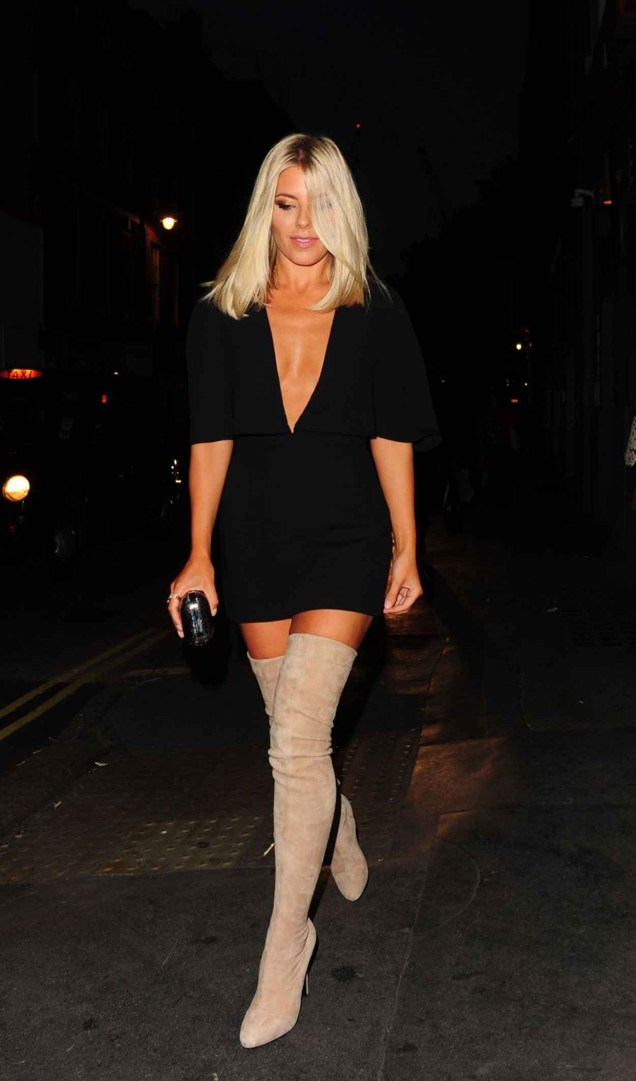 Mollie King - Notion Magazine X Swatch Issue 70 Launch Party in London-2