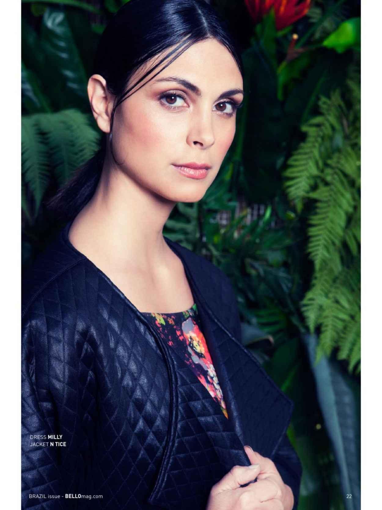 Morena Baccarin - BELLO Magazine - July 2015 Issue-1