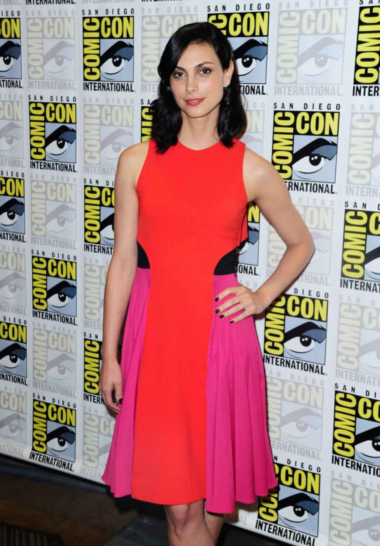 Morena Baccarin - Gotham Press Line at Comic Con in San Diego-3
