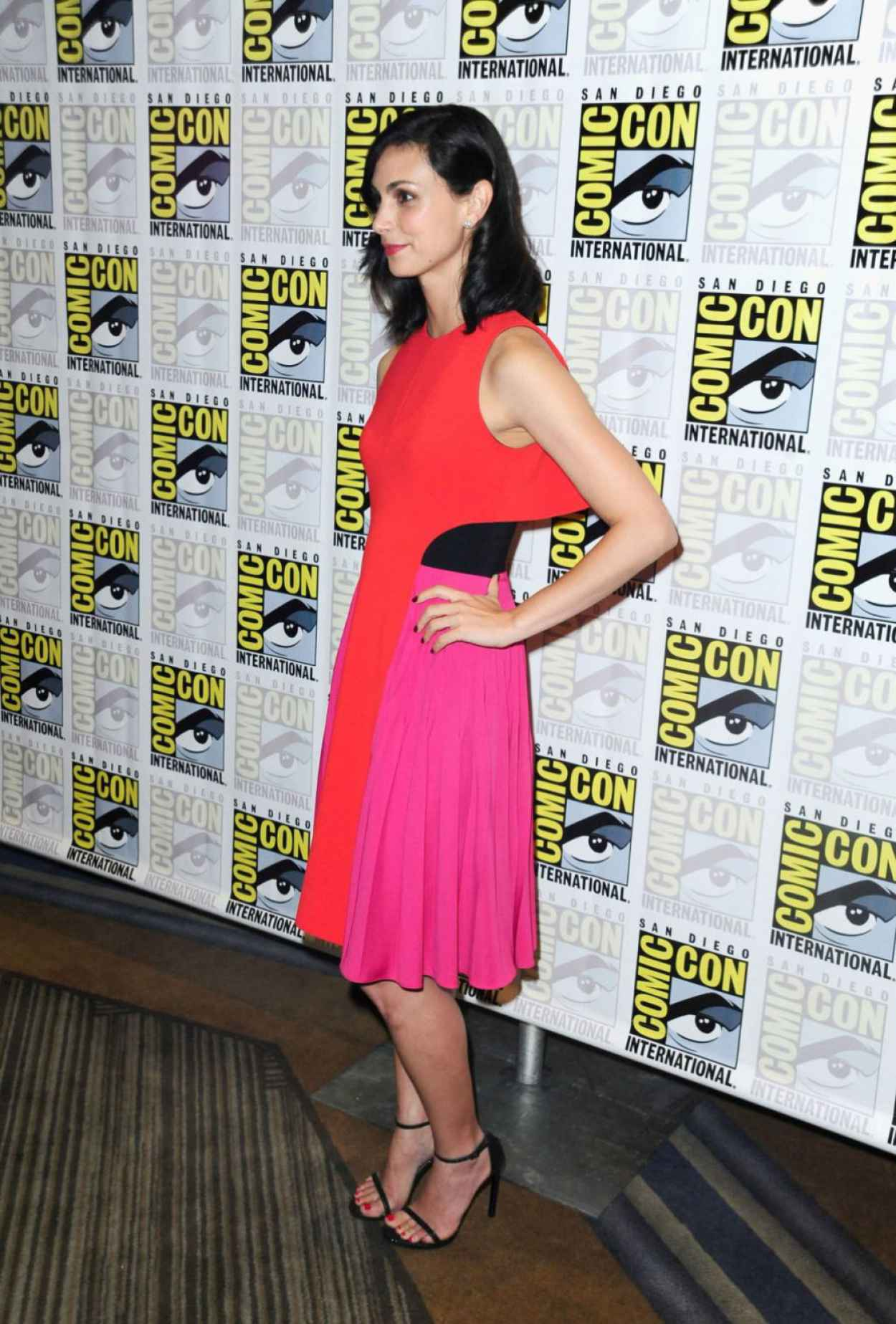 Morena Baccarin - Gotham Press Line at Comic Con in San Diego-4