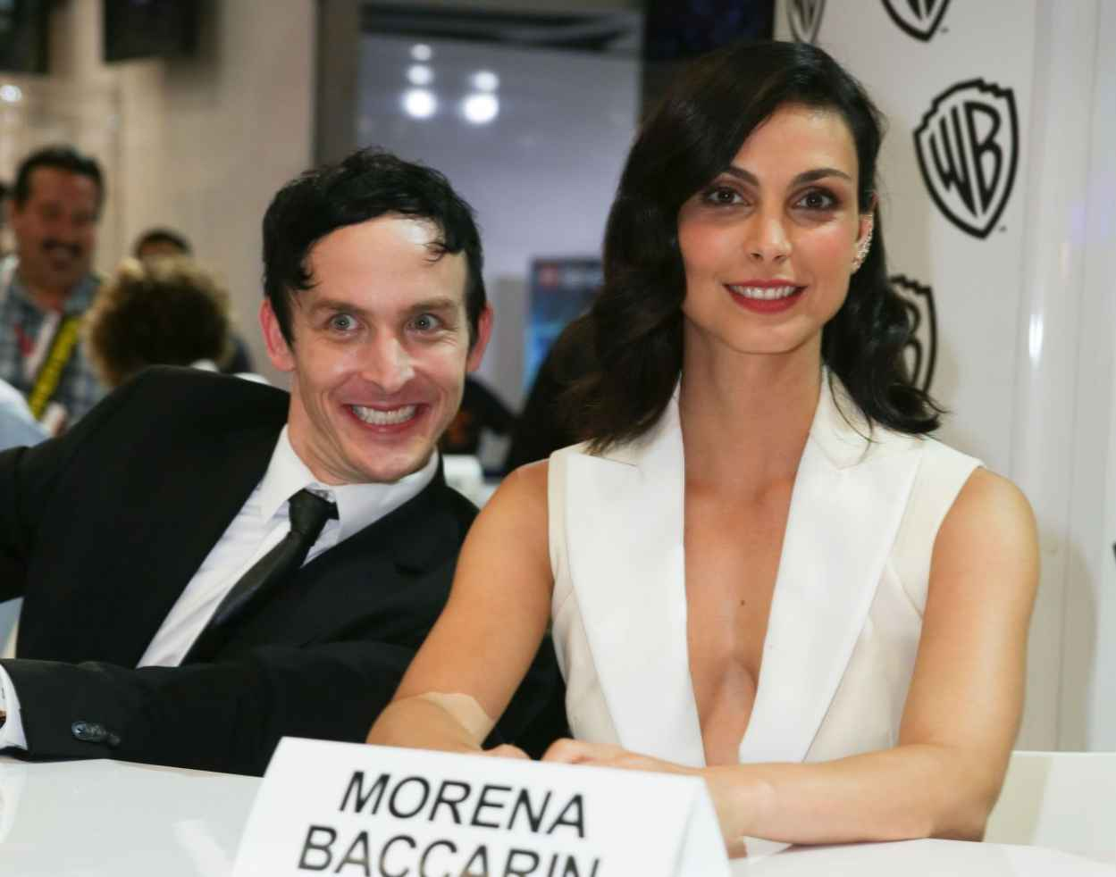 Morena Baccarin - WB Booth at Comic Con in San Diego, July 2015-2